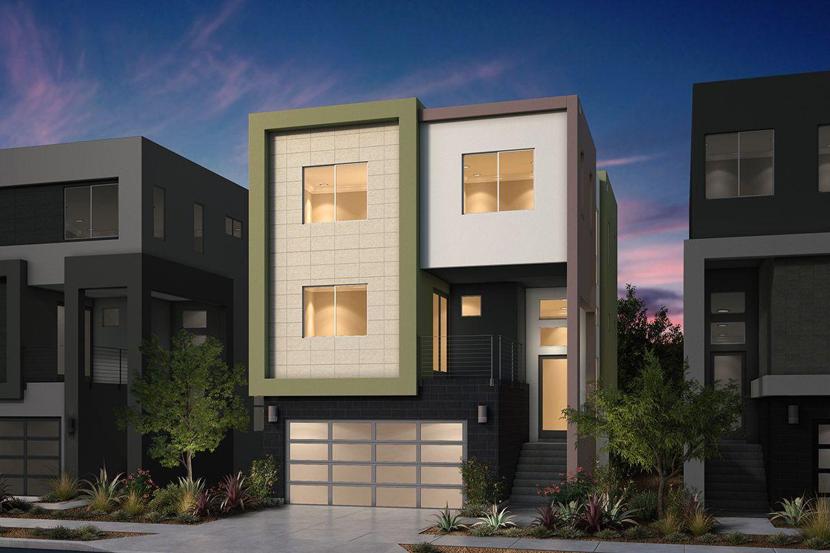 单亲家庭 为 销售 在 Platinum Ii At Communications Hill - Plan 3 Communications Hill Blvd And Hillsdale Ave. San Jose, California 95136 United States