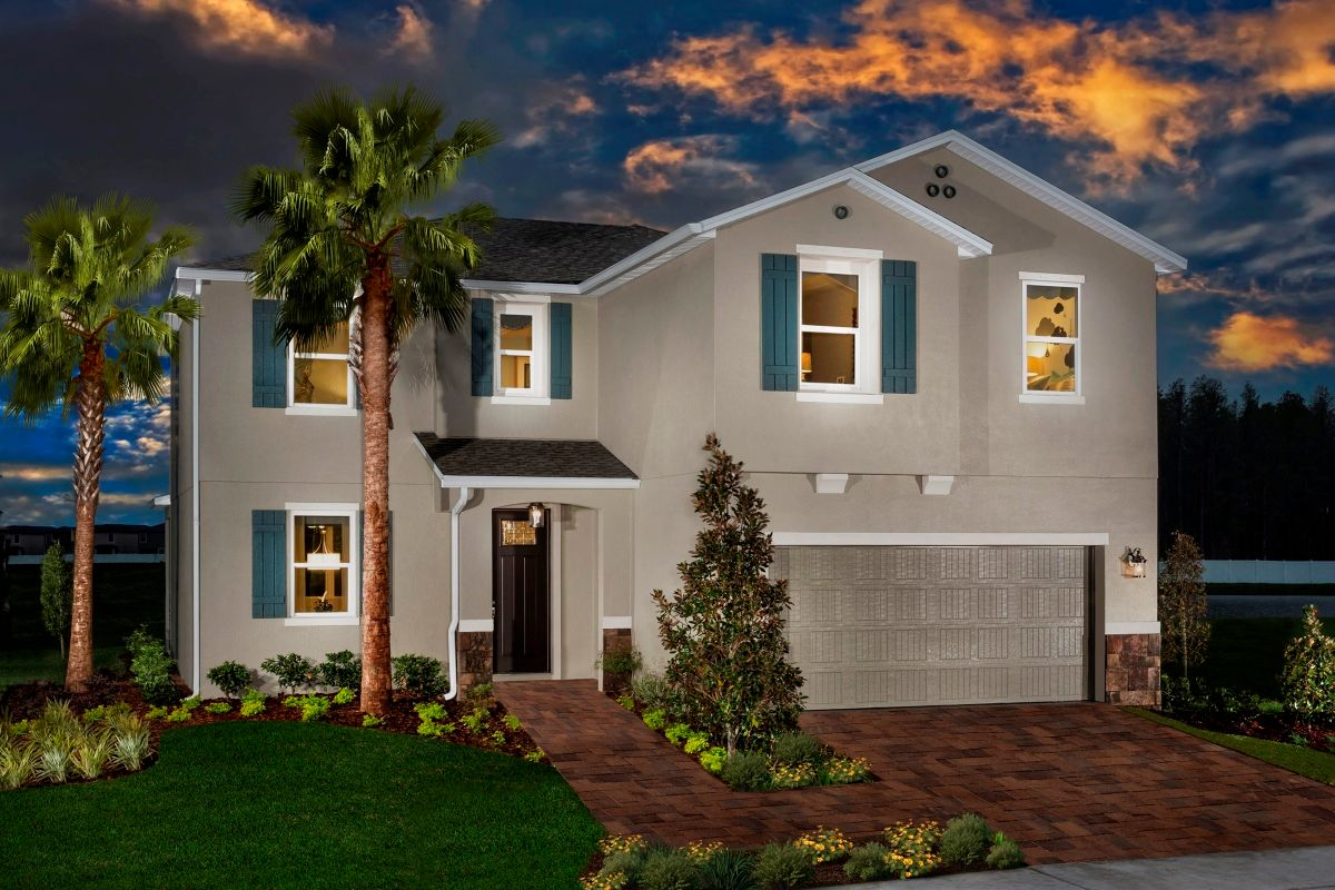 Wild fern village at trinity lakes new homes in trinity fl for Trinity home builders