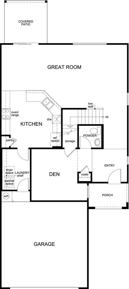 Kb home villas escalante plan 2212 1271022 tucson az for Tucson house plans
