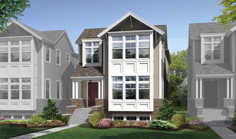 6092 N. Sauganash Avenue, Homesite 30, Near North Side Chicago, IL Homes & Land - Real Estate