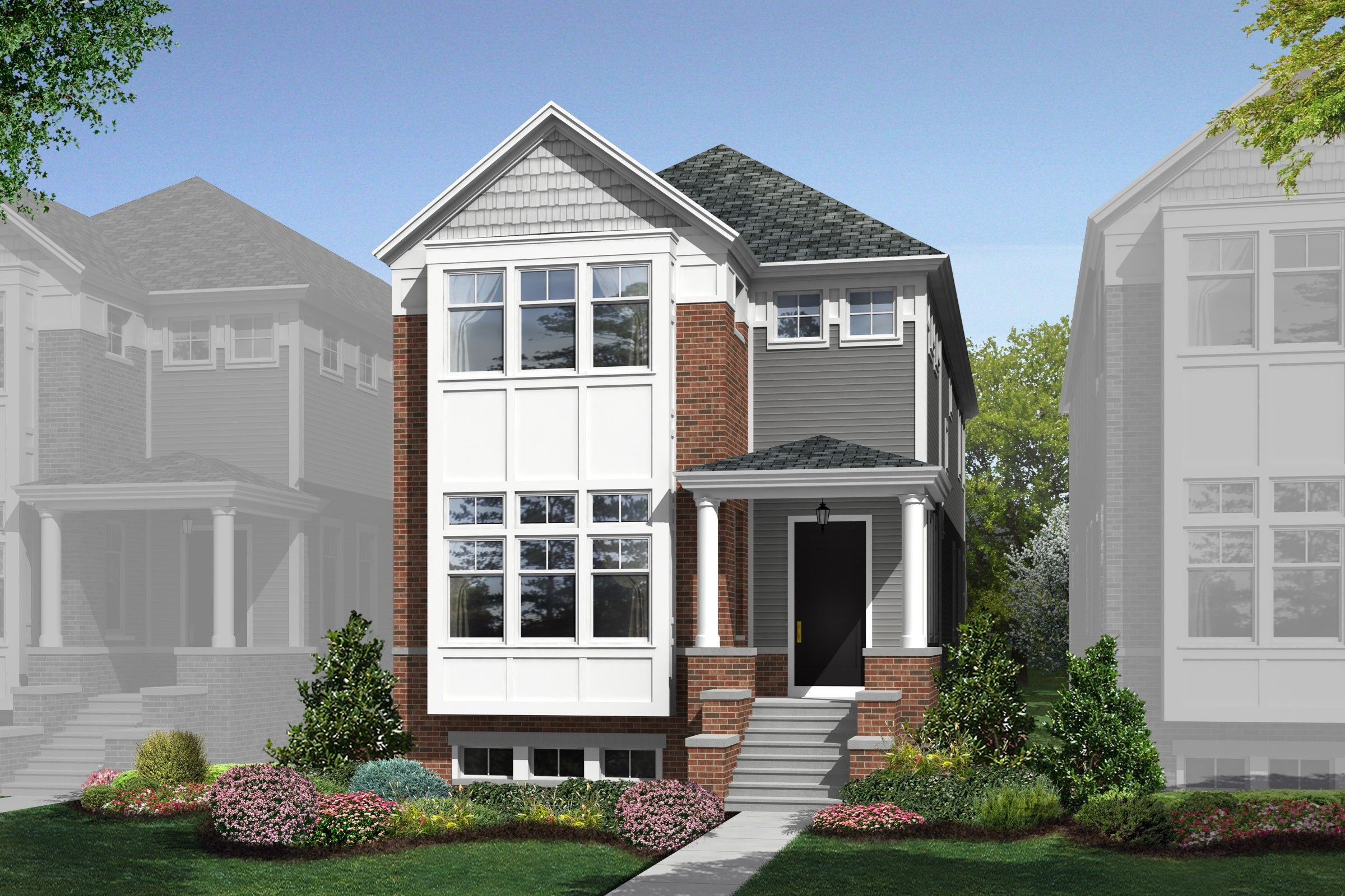 Single Family for Sale at Dickinson 6072 N Sauganash Avenue, Homesite 23 Chicago, Illinois 60646 United States