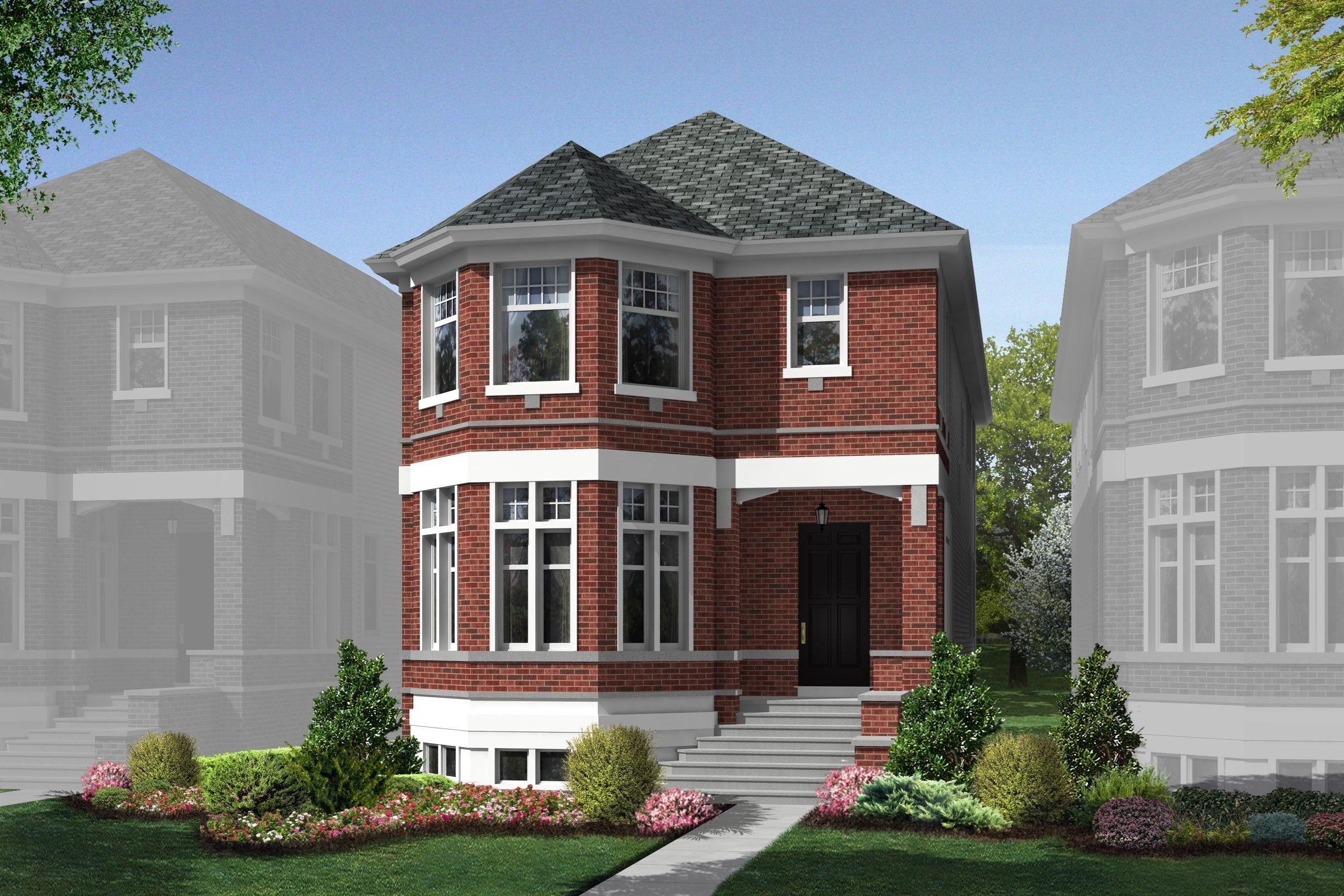 6086 N. Sauganash Avenue, Homesite 28, Near North Side Chicago, IL Homes & Land - Real Estate
