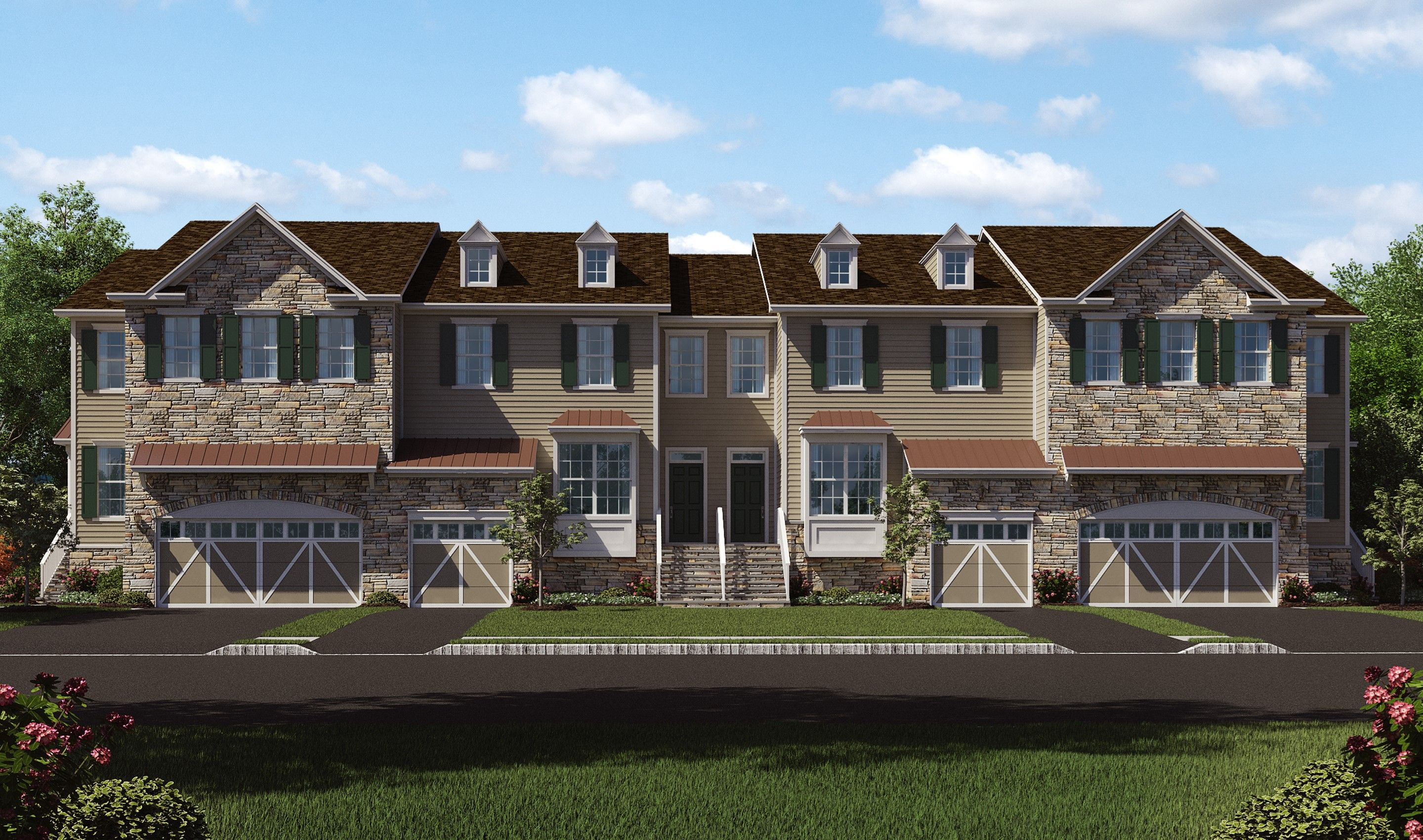 Multi Family for Sale at Swarthmore 203 Shields Court, Homesite 1204 Cranbury, New Jersey 08512 United States