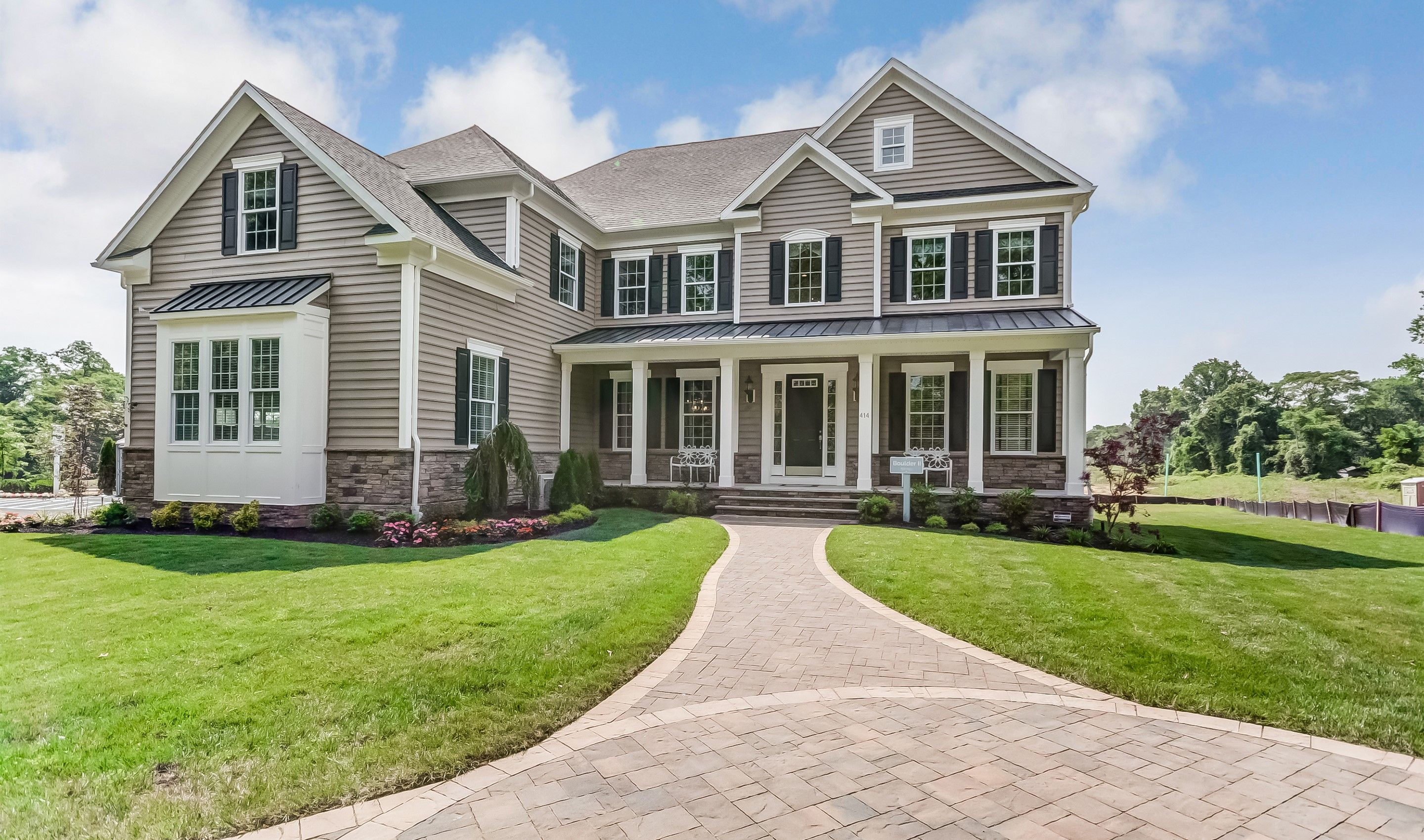 Single Family for Sale at Boulder Ii 414 Kings Highway East, Homesite 19 Middletown, New Jersey 07748 United States