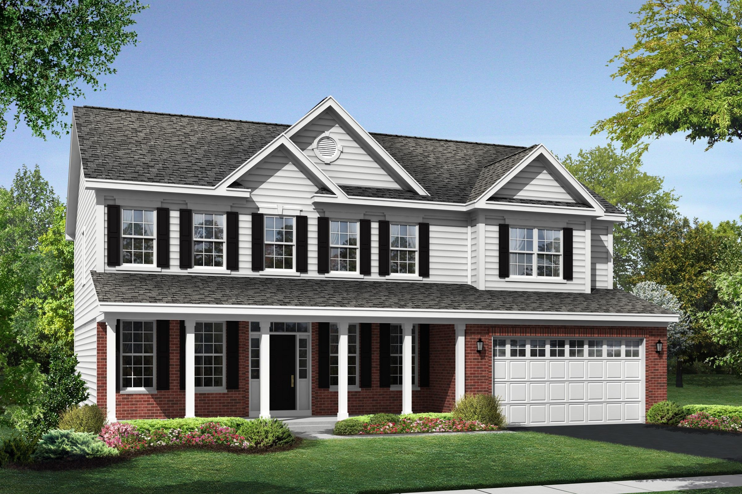 Single Family for Sale at Northridge Estates - Dover 1610 Falcon Drive Wheaton, Illinois 60187 United States