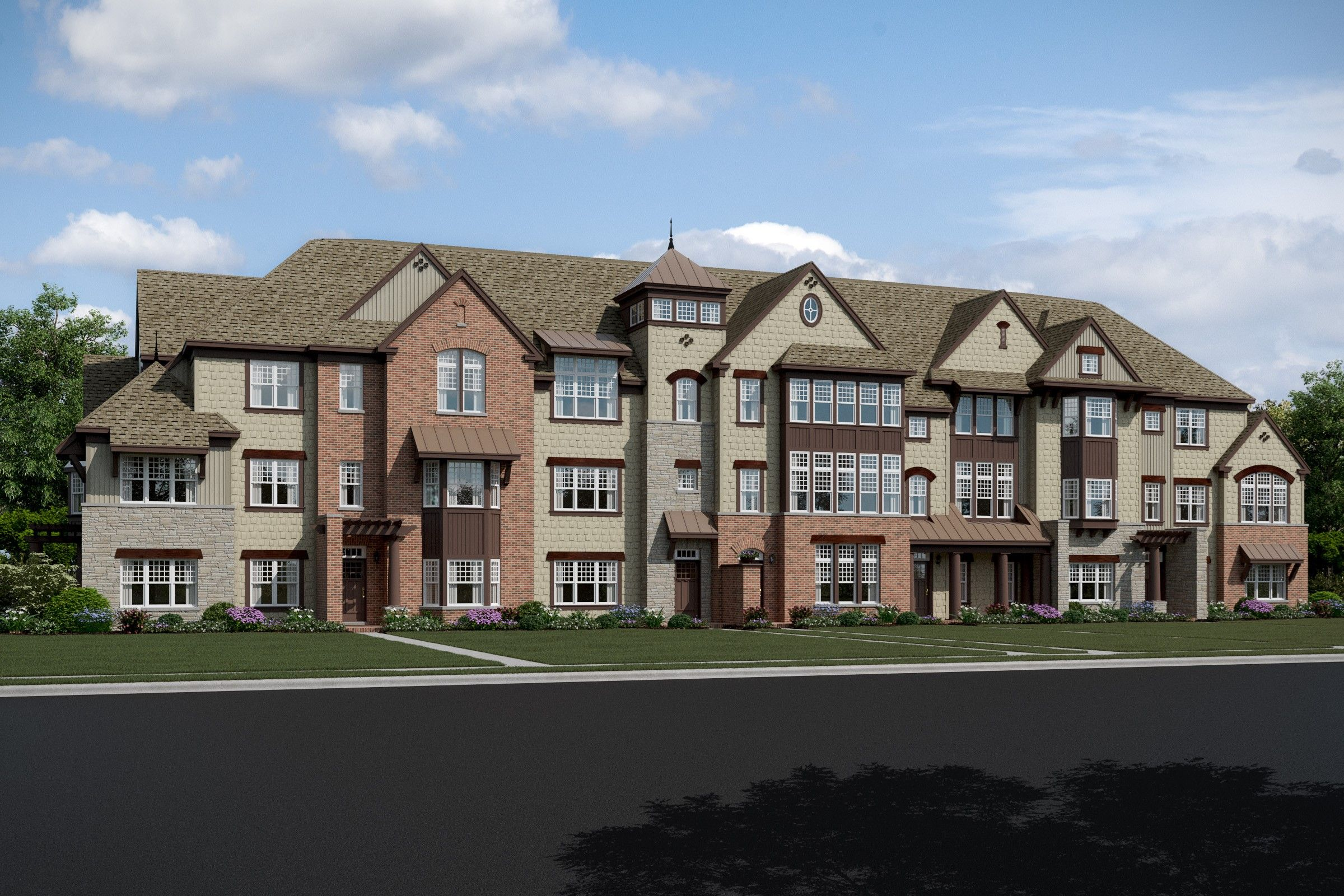 Multifamiliar por un Venta en Erie 621 Parkside Court, Homesite 51 Libertyville, Illinois 60048 United States