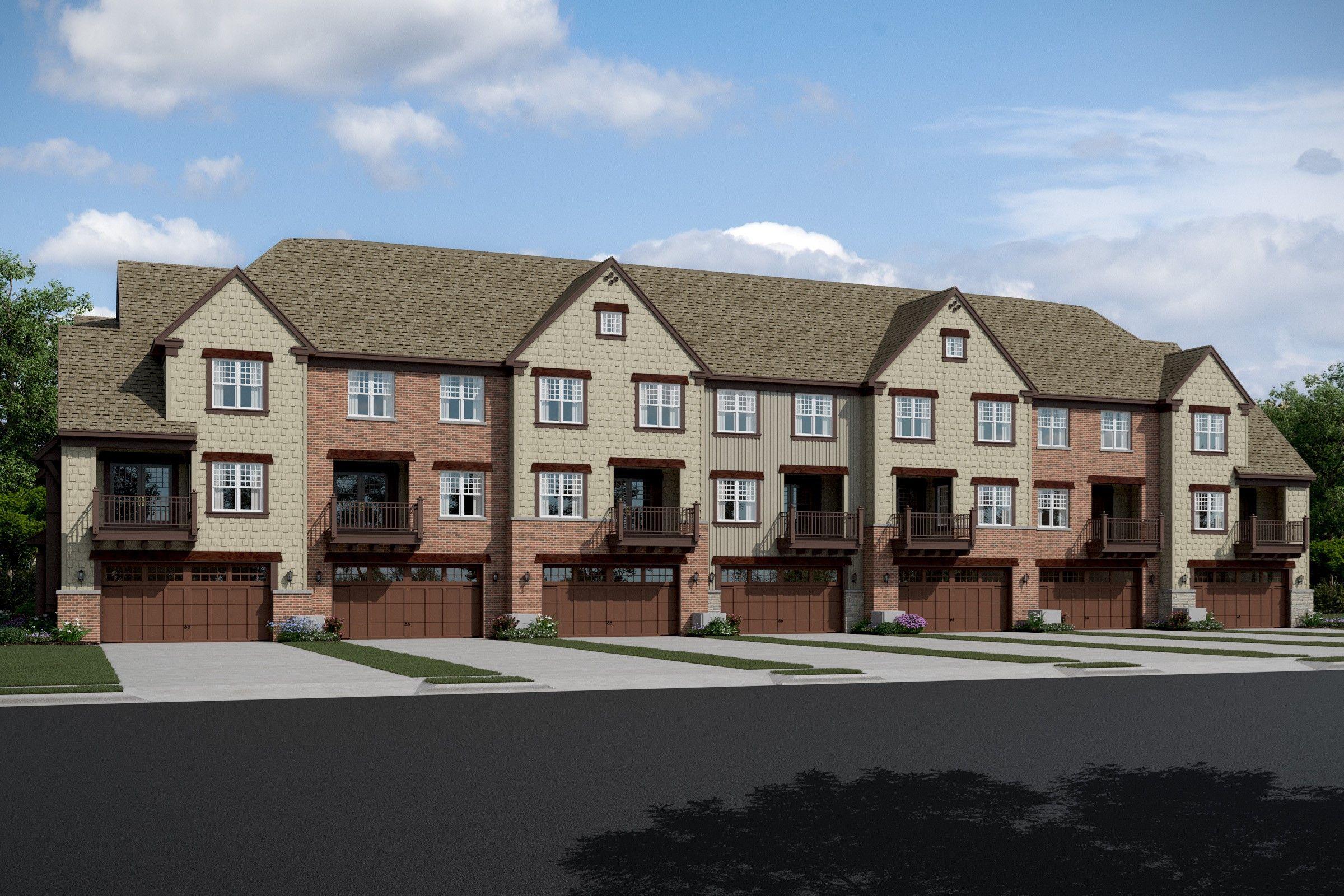 Multifamiliar por un Venta en Superior 616 Parkside Court, Homesite 4 Libertyville, Illinois 60048 United States