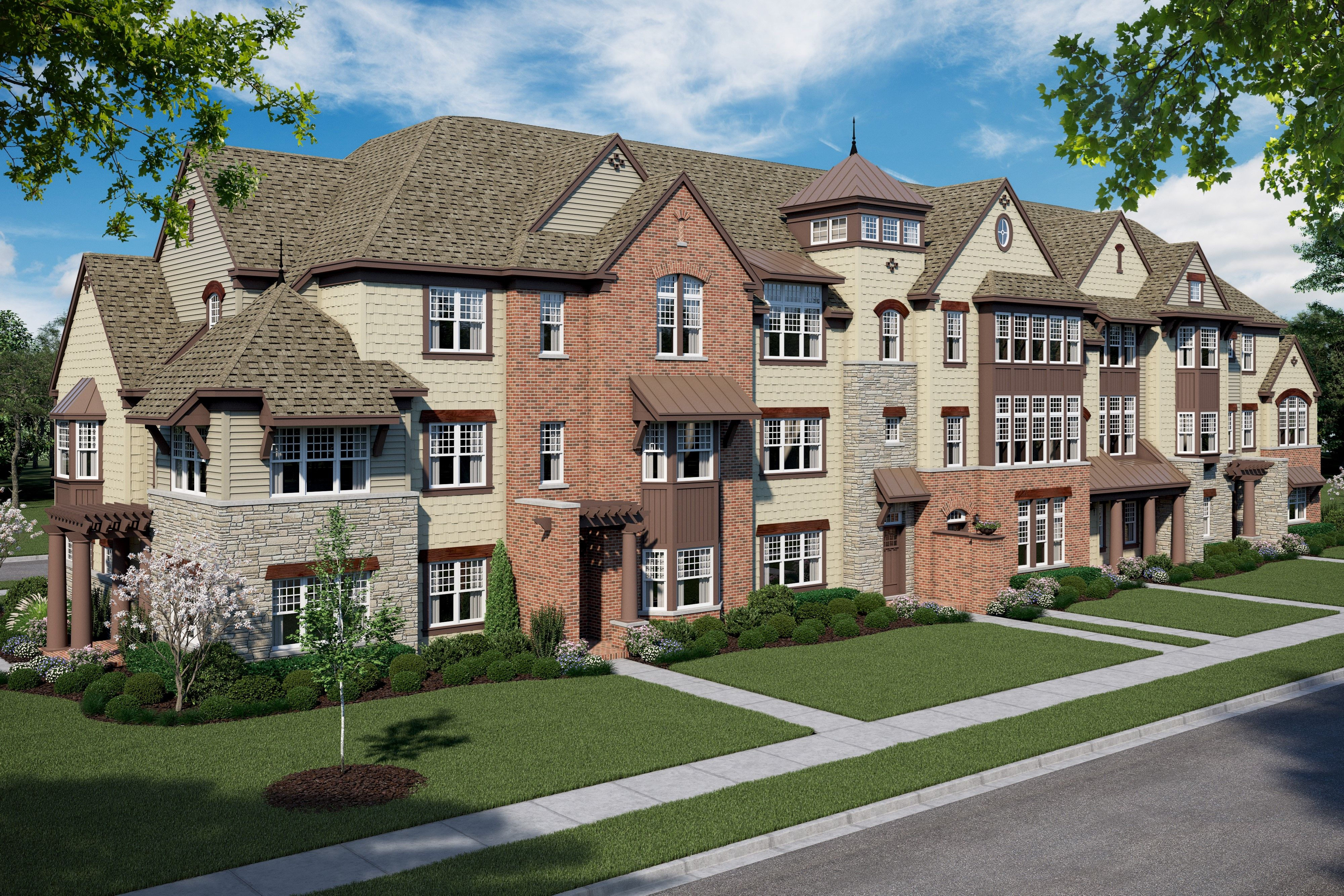 Multi Family for Sale at Superior 616 Parkside Court, Homesite 4 Libertyville, Illinois 60048 United States