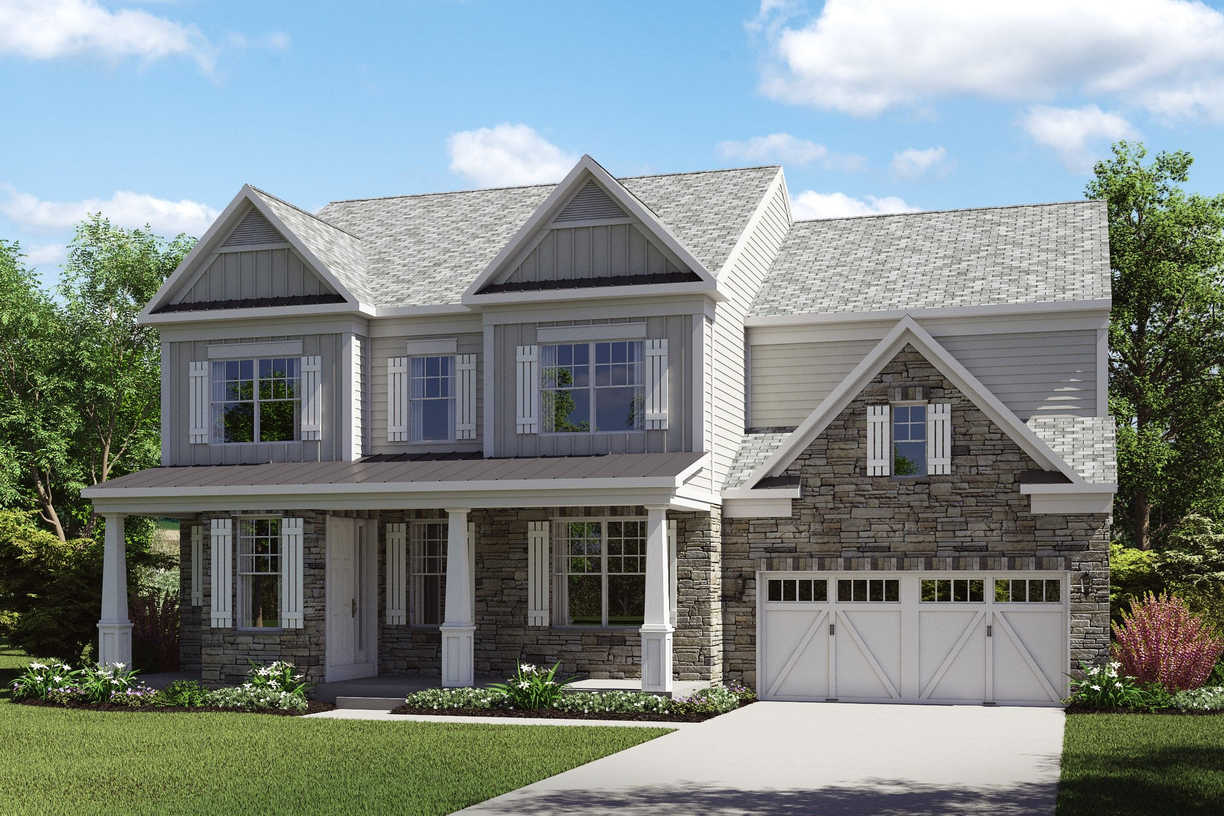 Single Family for Active at Vintage Park - Thorndale Cranbury Road East Brunswick Township, New Jersey 08816 United States