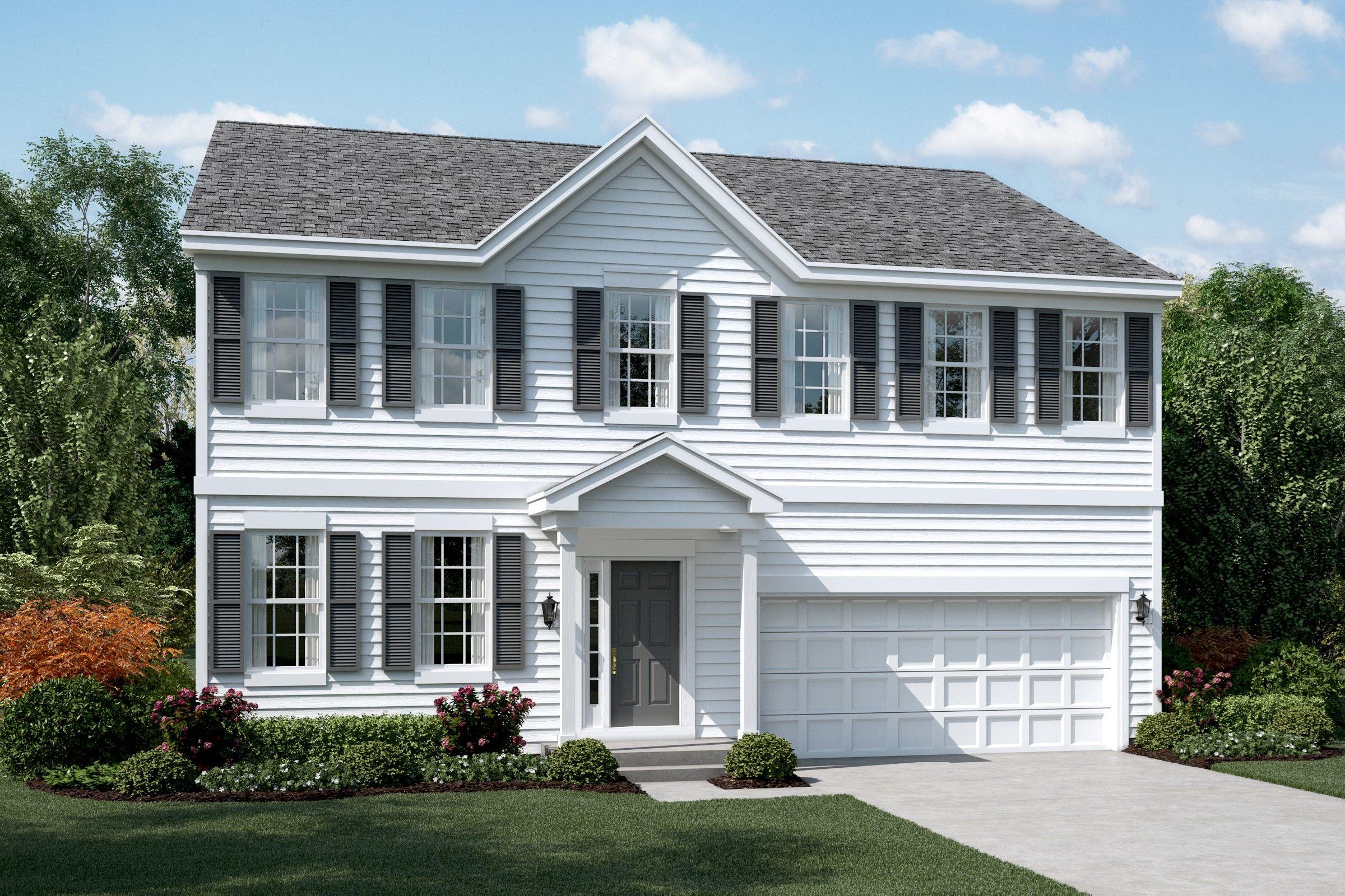 Single Family for Sale at The Estates Of Fox Chase - Betony 200 Gates Creek Drive Oswego, Illinois 60543 United States