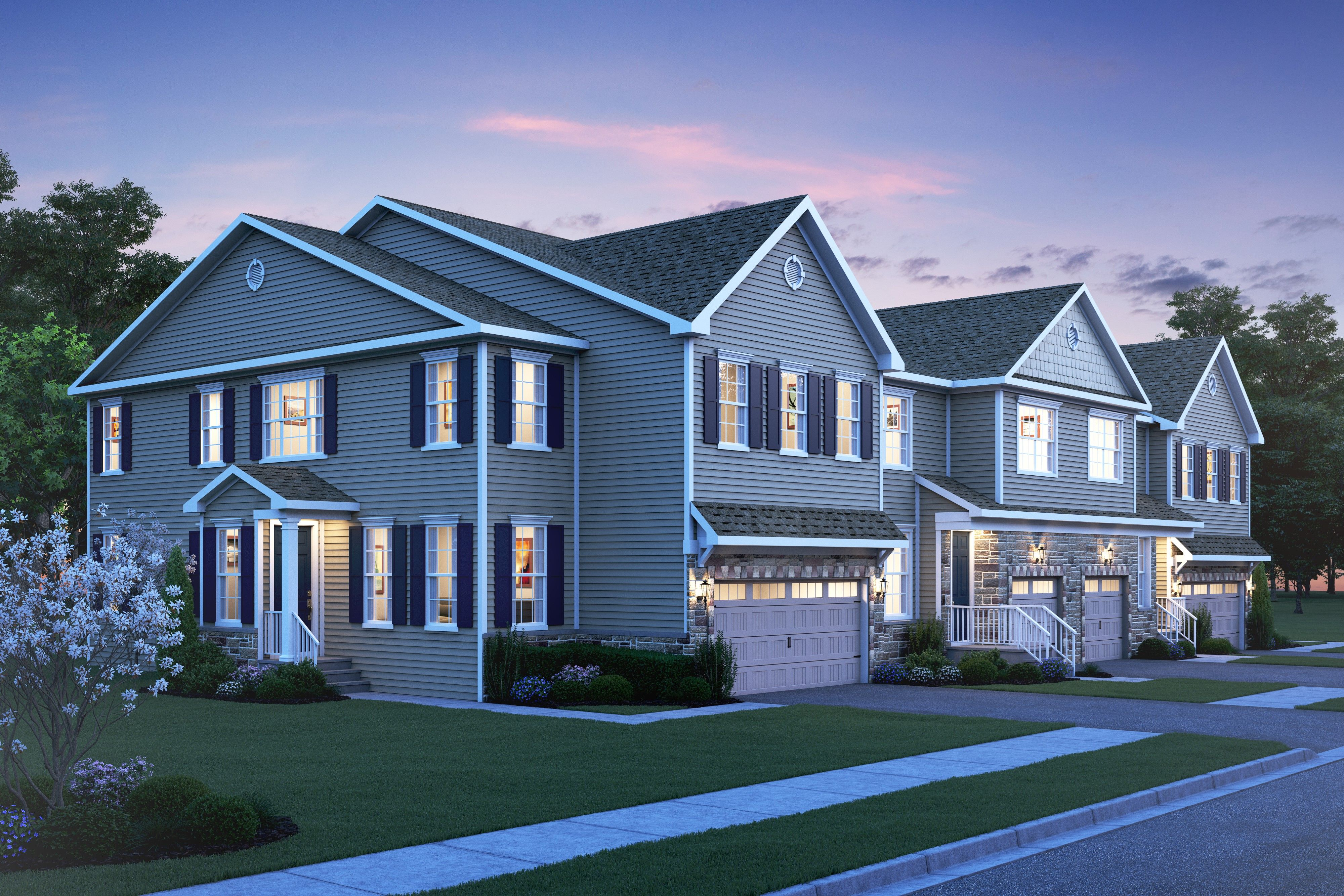 Multi Family for Active at Howard 32 Begonia Lane, Homesite 2101 Monroe, New Jersey 08831 United States