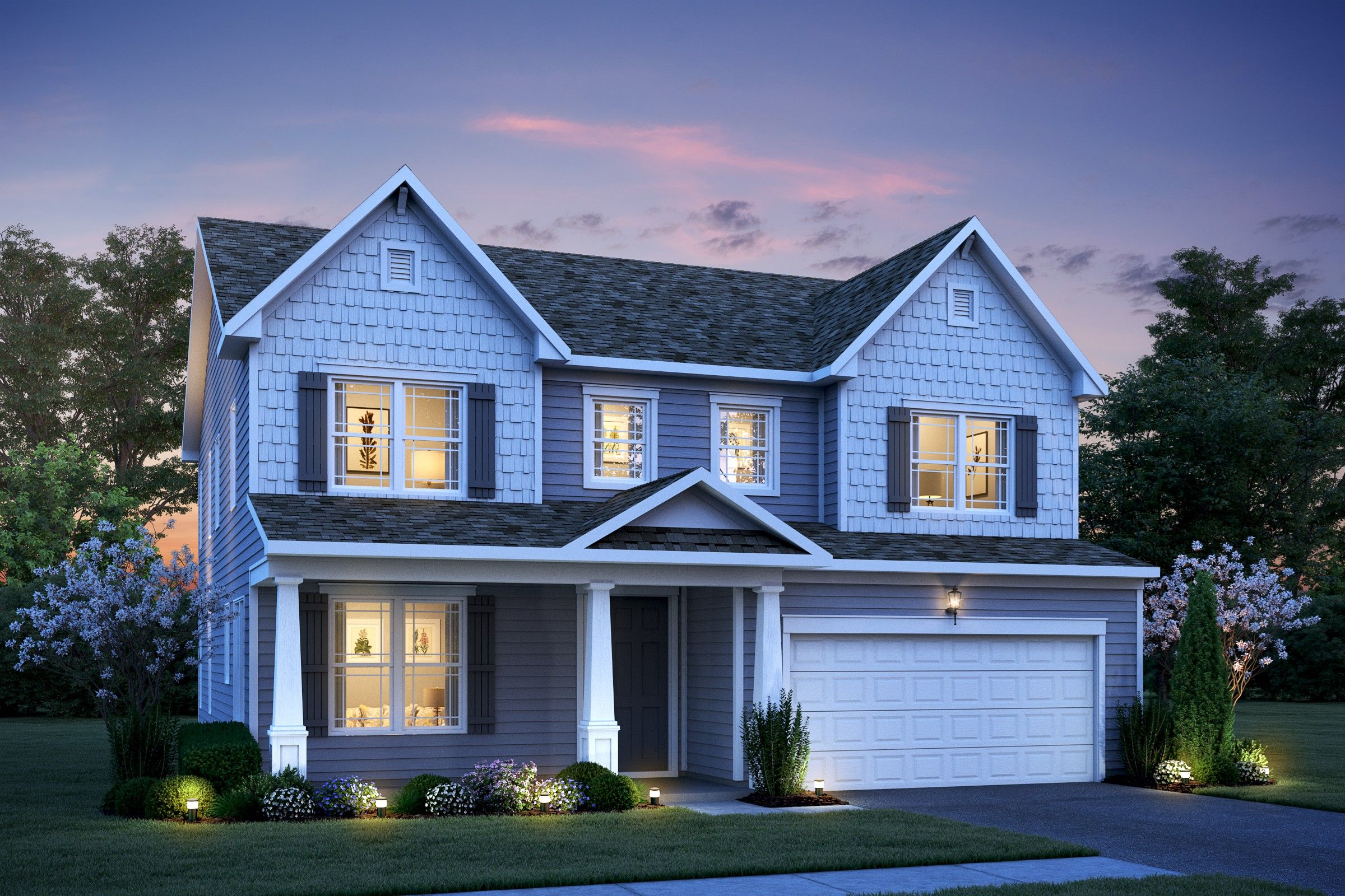 Single Family for Active at Meadow Brook At Hillsborough - Lexington Ii Passe Court Hillsborough, New Jersey 08844 United States