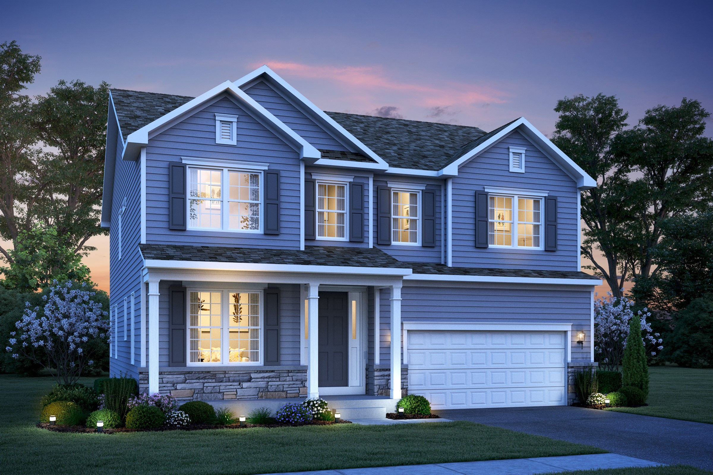 Single Family for Active at Meadow Brook At Hillsborough - Brookdale Passe Court Hillsborough, New Jersey 08844 United States