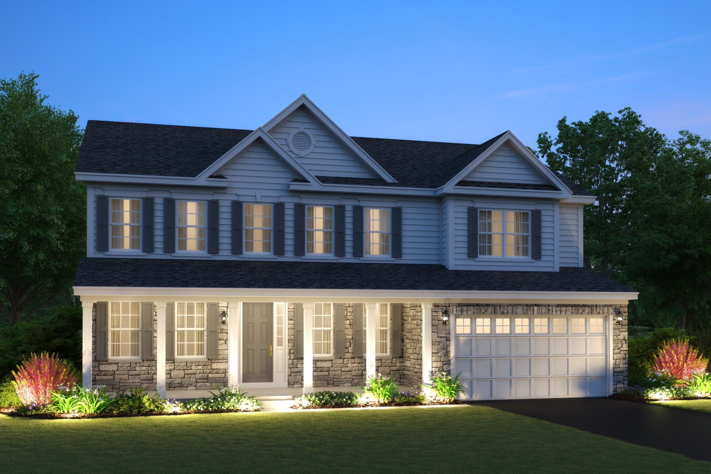 Single Family for Active at North Pointe Estates - Dover 1201 North Pointe Drive Libertyville, Illinois 60048 United States