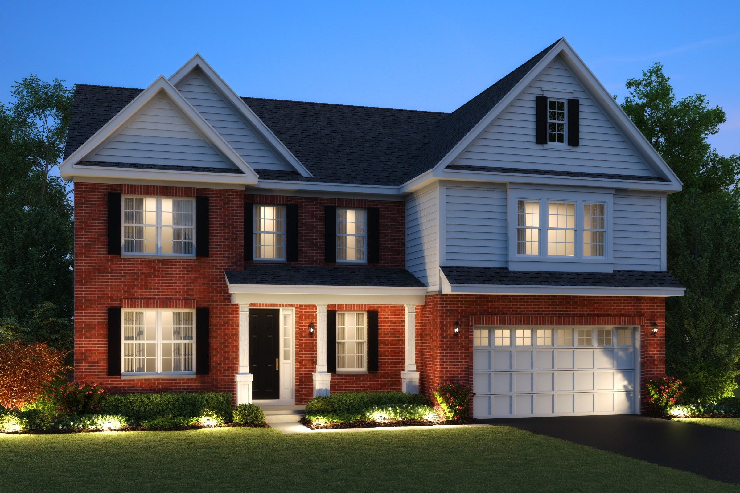 Single Family for Active at North Pointe Estates - Shelton 1201 North Pointe Drive Libertyville, Illinois 60048 United States