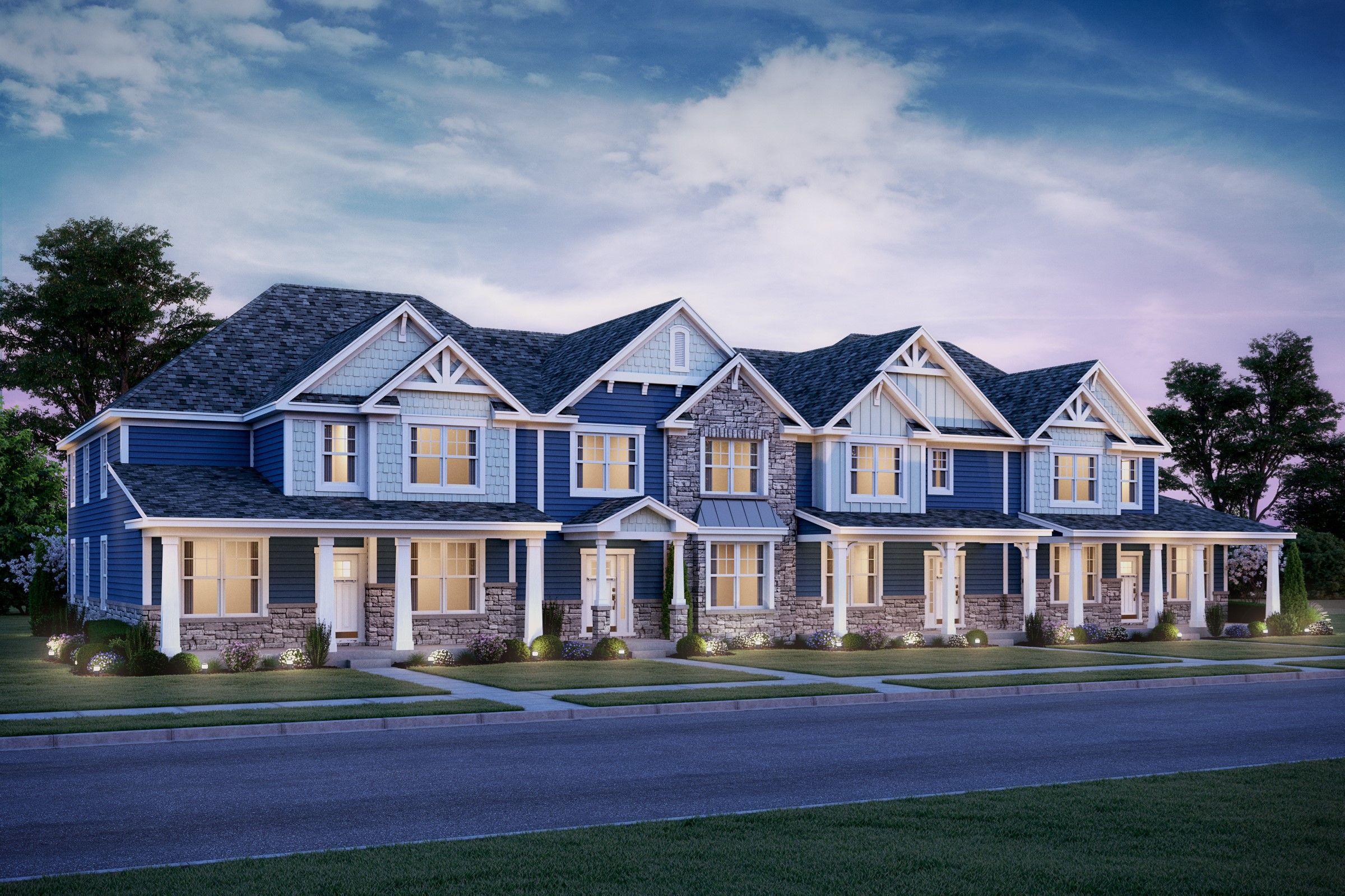 Multifamiliar por un Venta en Link Crossing - Alcott - Villas 2177 Brandywyn Lane Buffalo Grove, Illinois 60089 United States