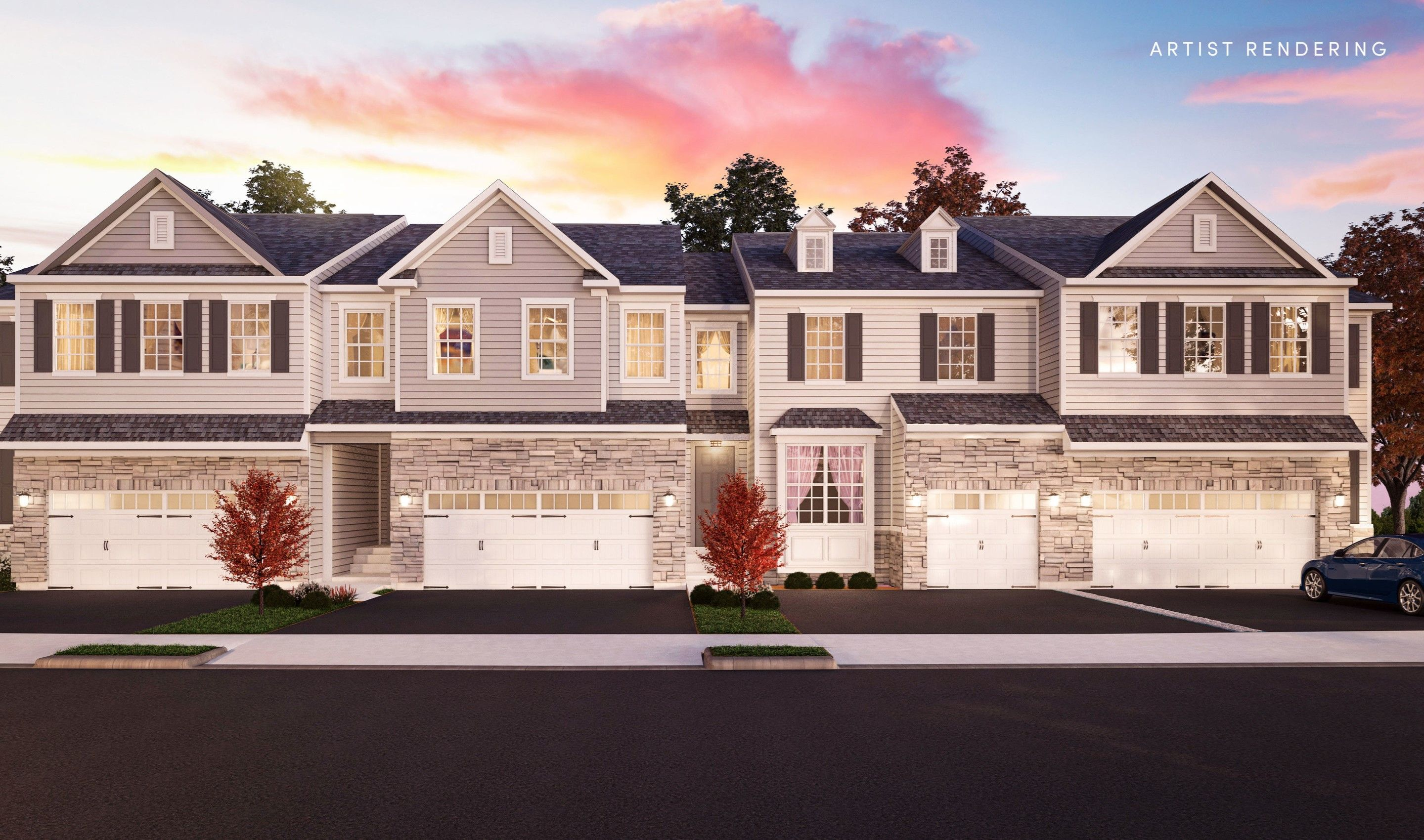 Multi Family for Active at Villages At Country View - Claremont Ii 693 Spotswood Englishtown Road Monroe Township, New Jersey 08831 United States