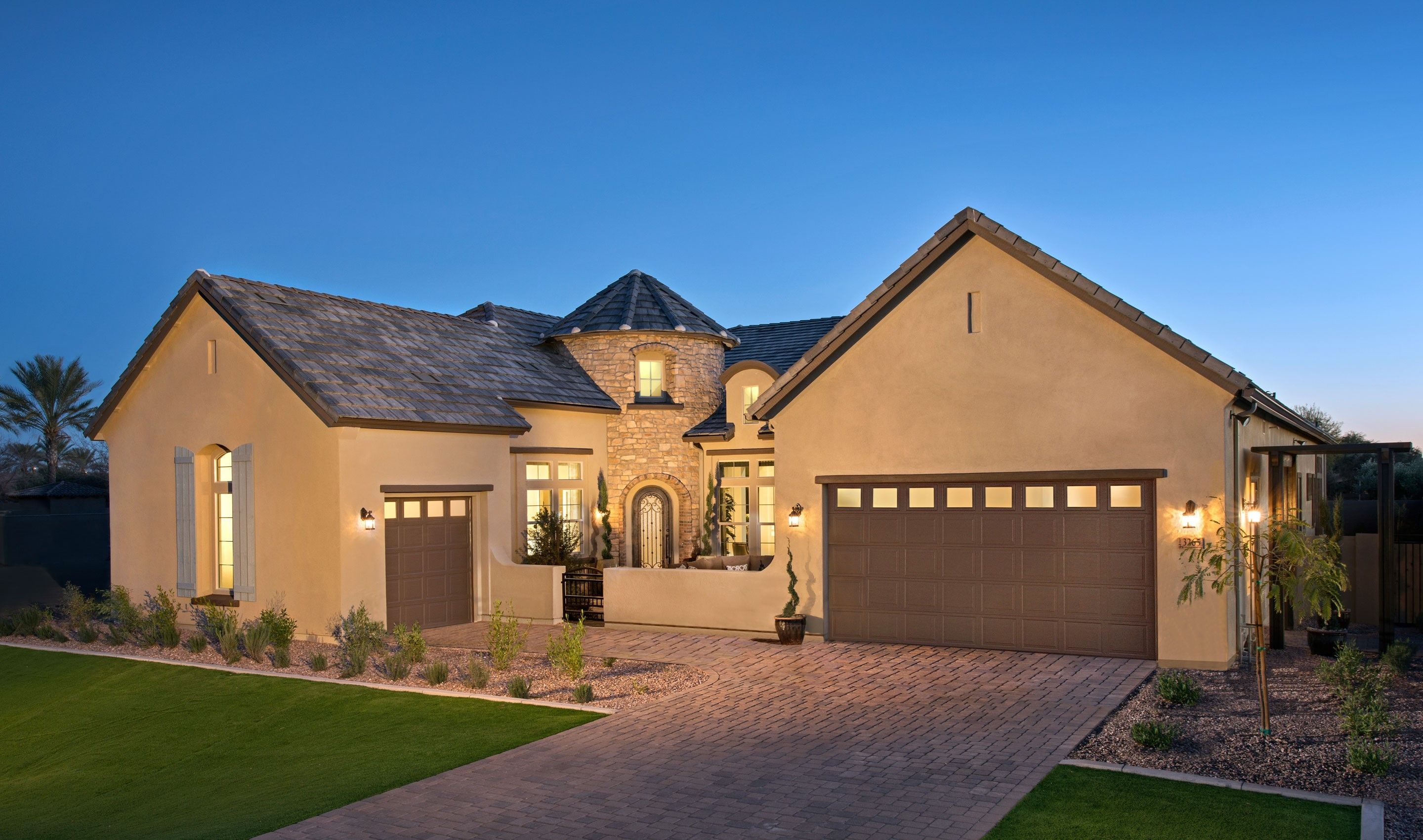 Single Family for Sale at Plymouth 3298 East Indigo Bay Court, Homesite 5 Gilbert, Arizona 85234 United States
