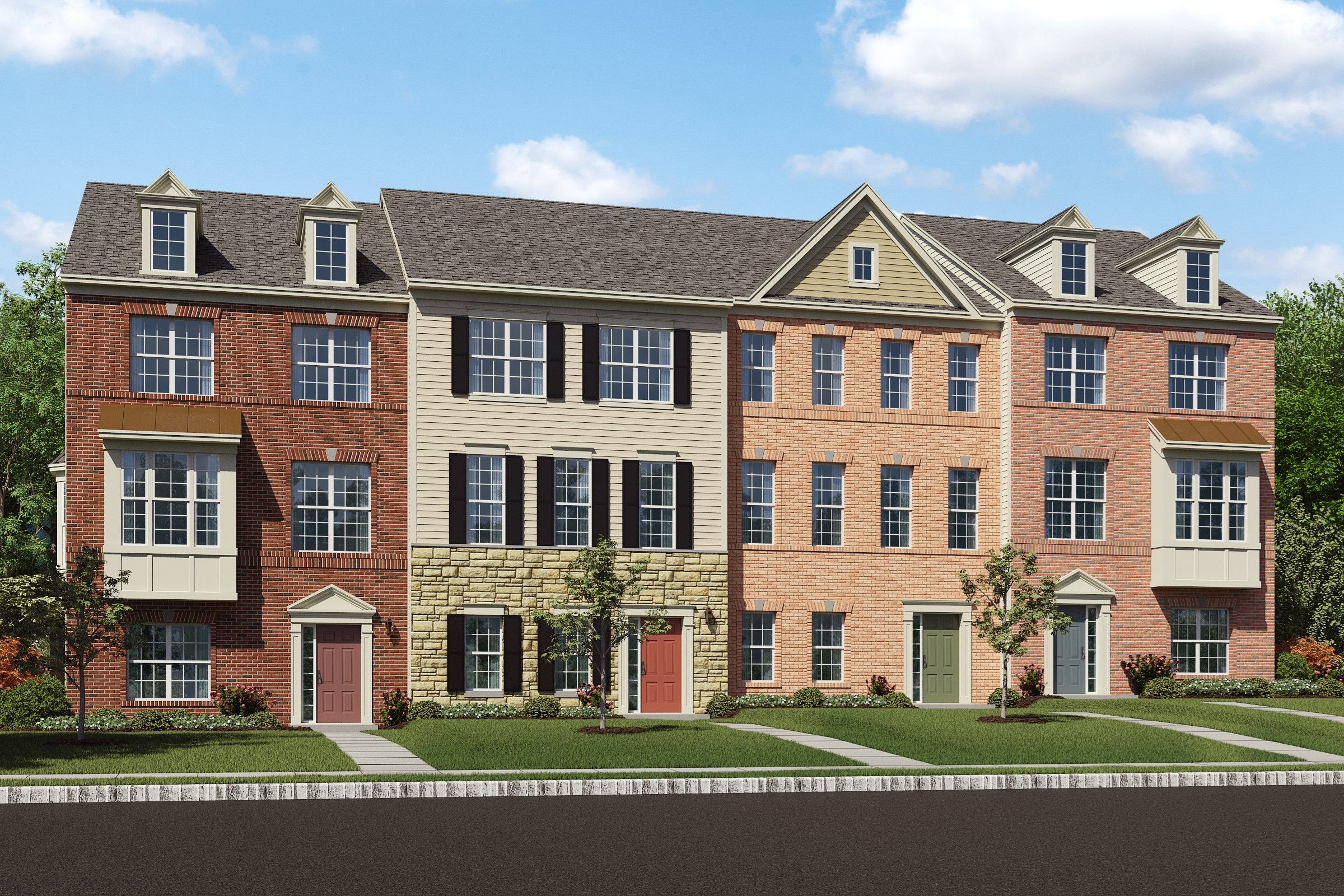 Multi Family for Sale at Madison 2120 Garden Grove Lane, Homesite 34 Mitchellville, Maryland 20721 United States
