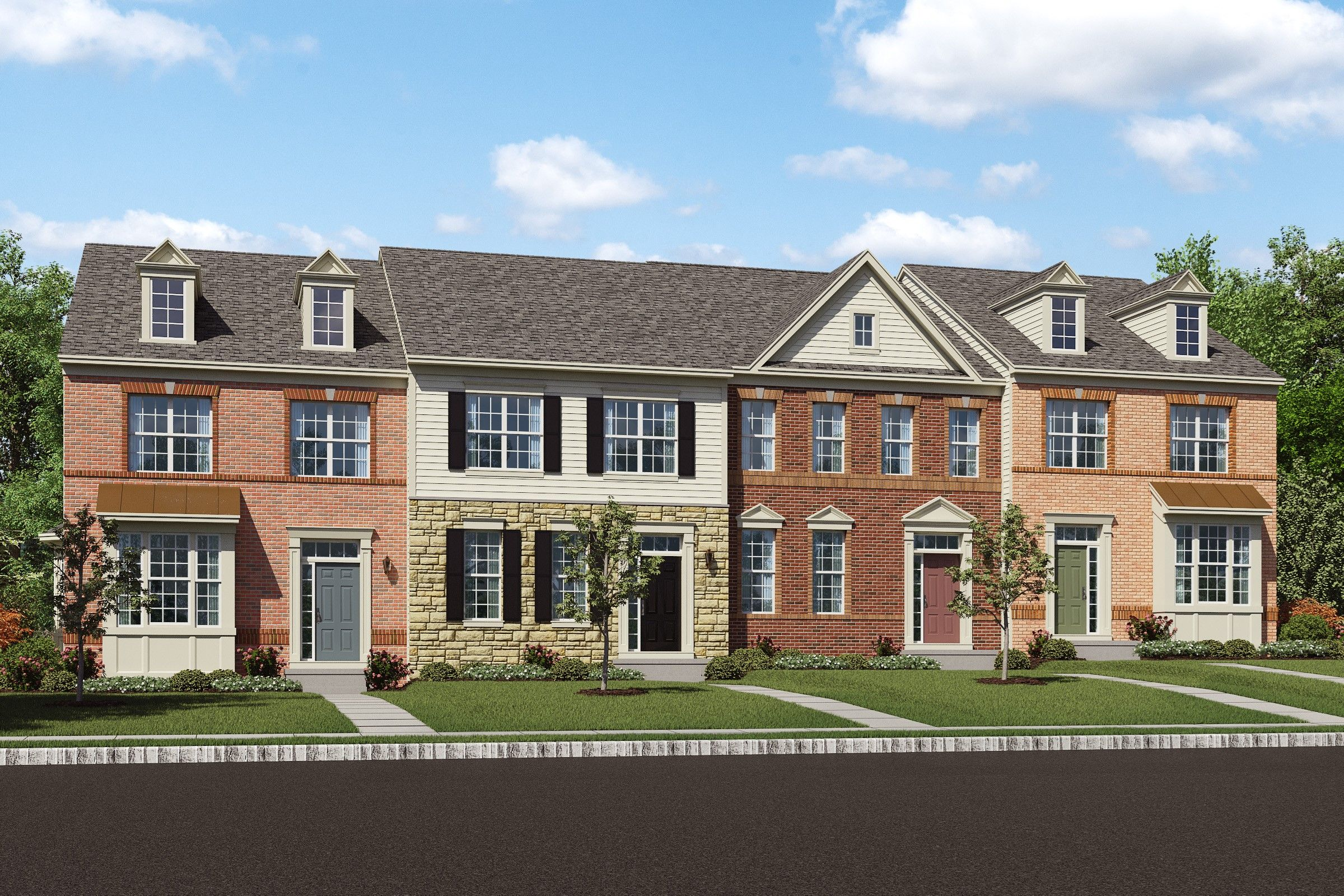 Multi Family for Sale at Madison 2106 Garden Grove Lane, Homesite 27d Mitchellville, Maryland 20721 United States