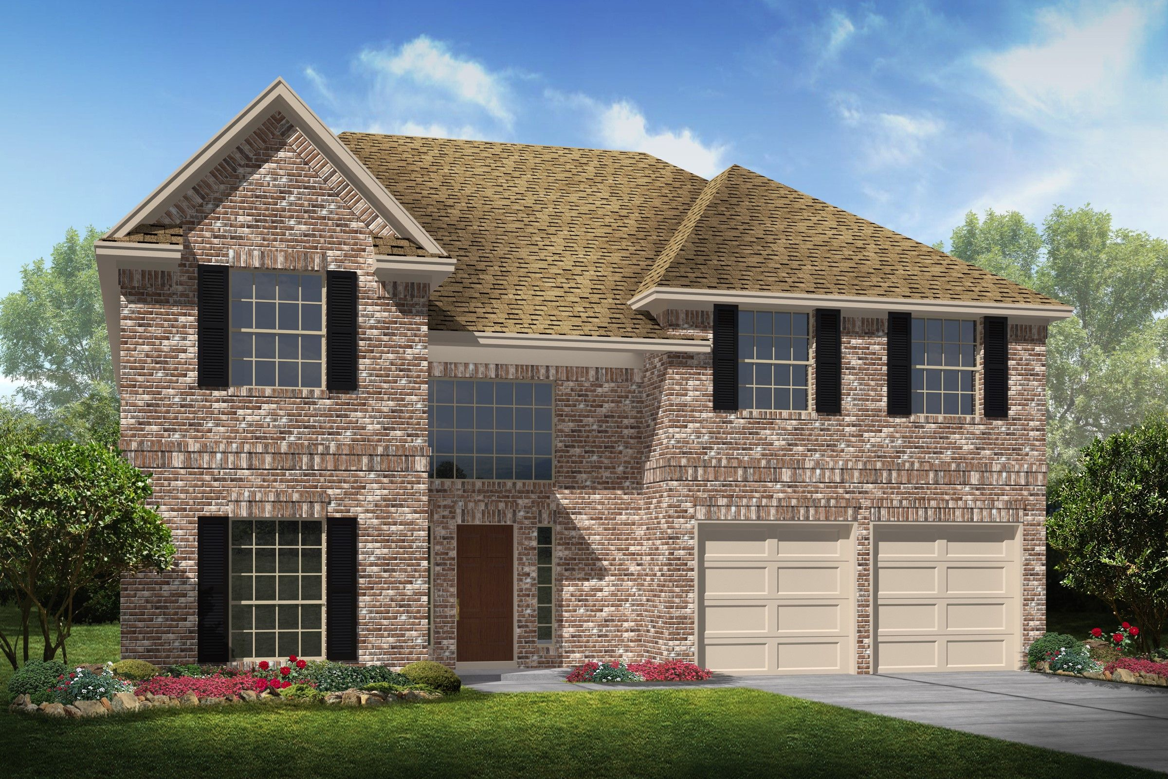 Single Family for Sale at Gaston Ii 4400 Hartwick Bend Drive, Homesite 4 Dickinson, Texas 77539 United States