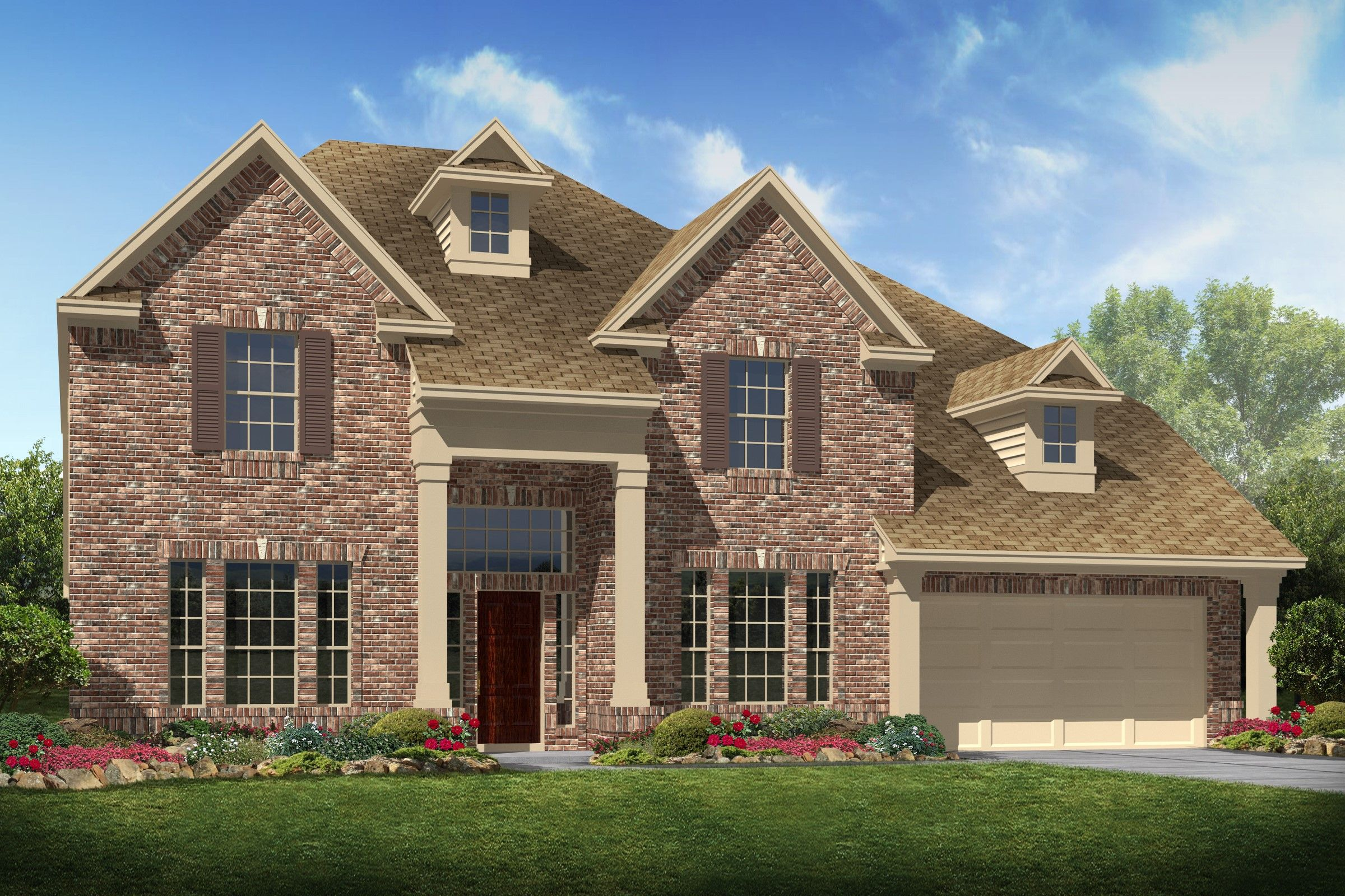 Single Family for Sale at Mandalay 7503 Tejas Lakes Trails, Homesite 3 Needville, Texas 77461 United States