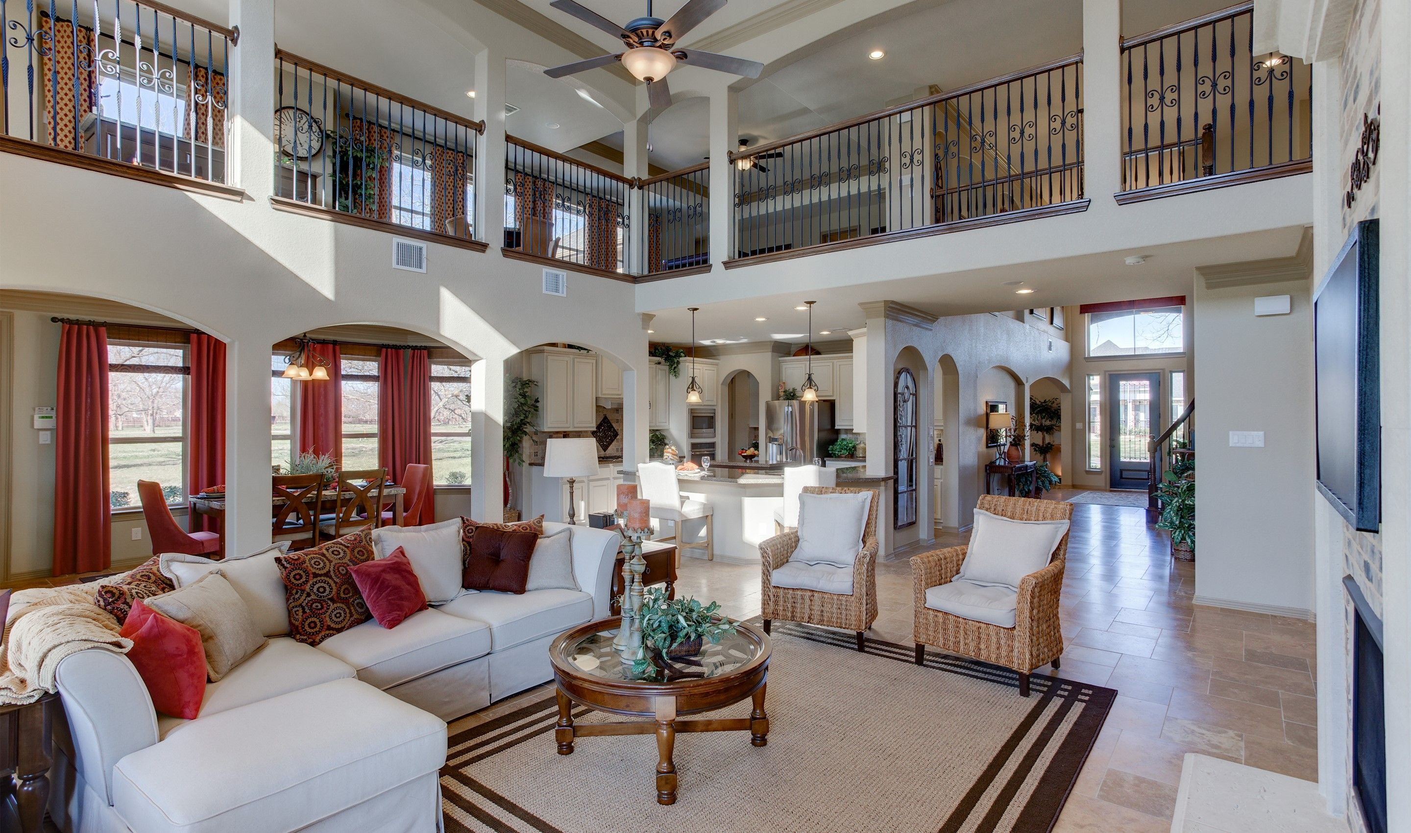 Single Family for Sale at Randolph 3911 Crystal Cascade Lane, Homesite 3 Richmond, Texas 77406 United States