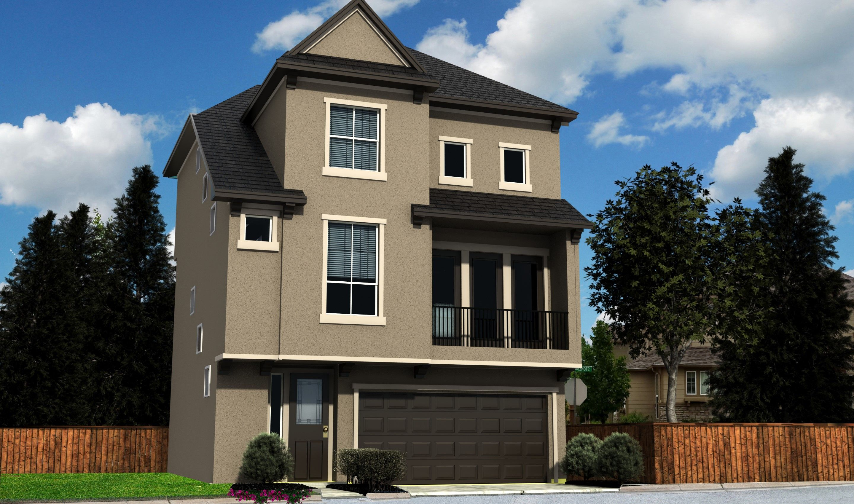 Single Family for Sale at Enclave At Oxford Park - Milan 12215 Oxford Crescent Circle Houston, Texas 77082 United States