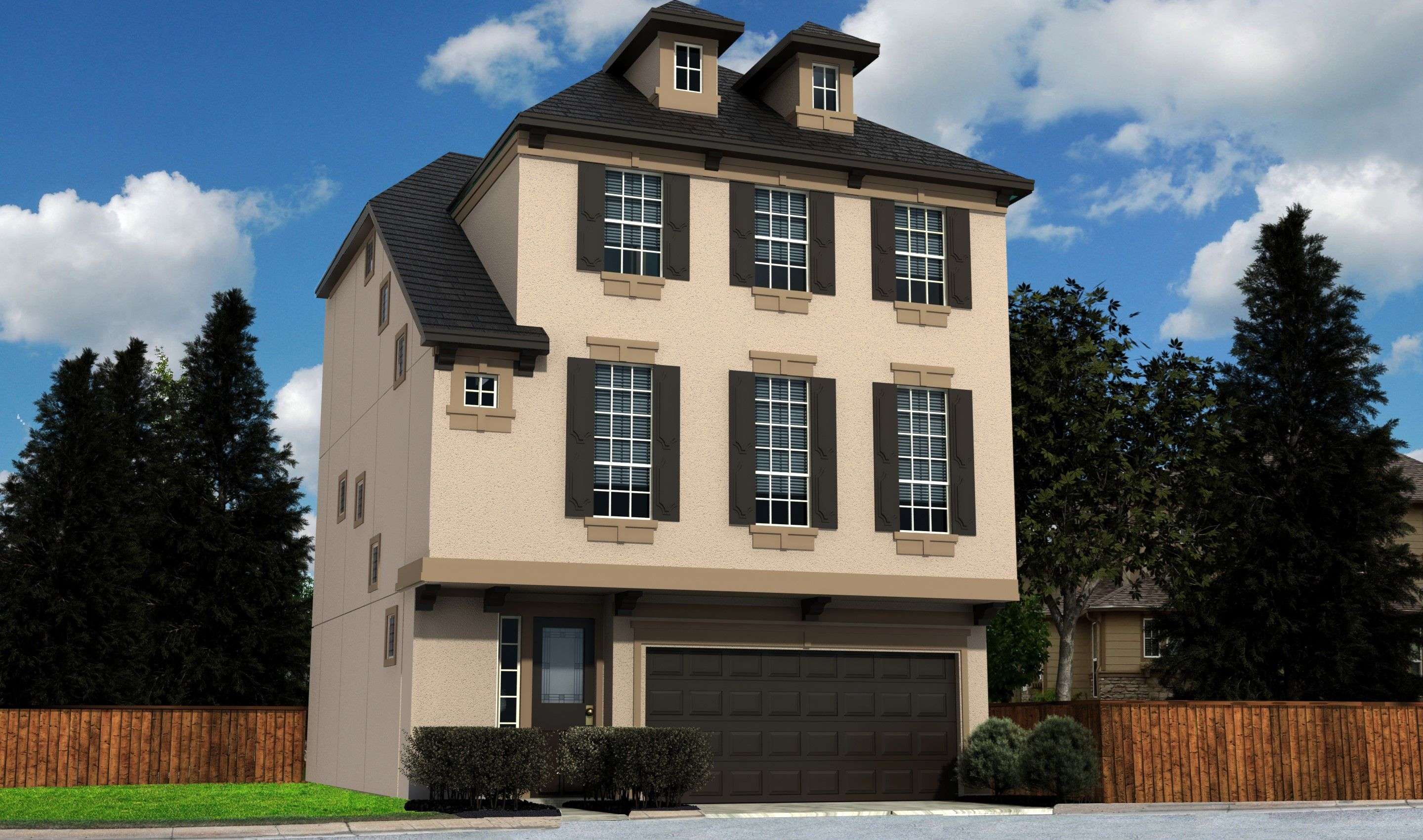 Single Family for Sale at Enclave At Oxford Park - Florence 12215 Oxford Crescent Circle Houston, Texas 77082 United States