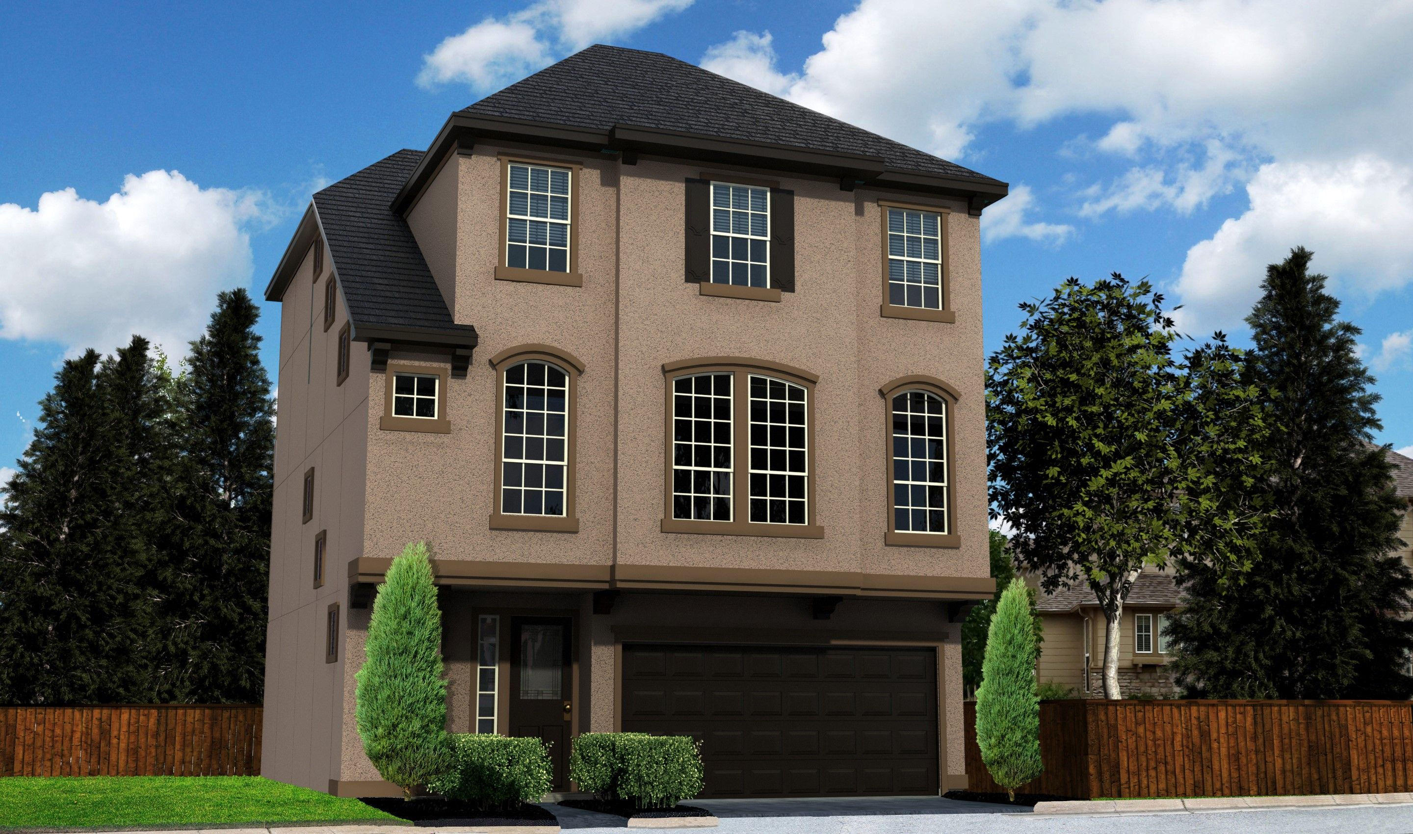 Single Family for Sale at Enclave At Oxford Park - Venice 12215 Oxford Crescent Circle Houston, Texas 77082 United States