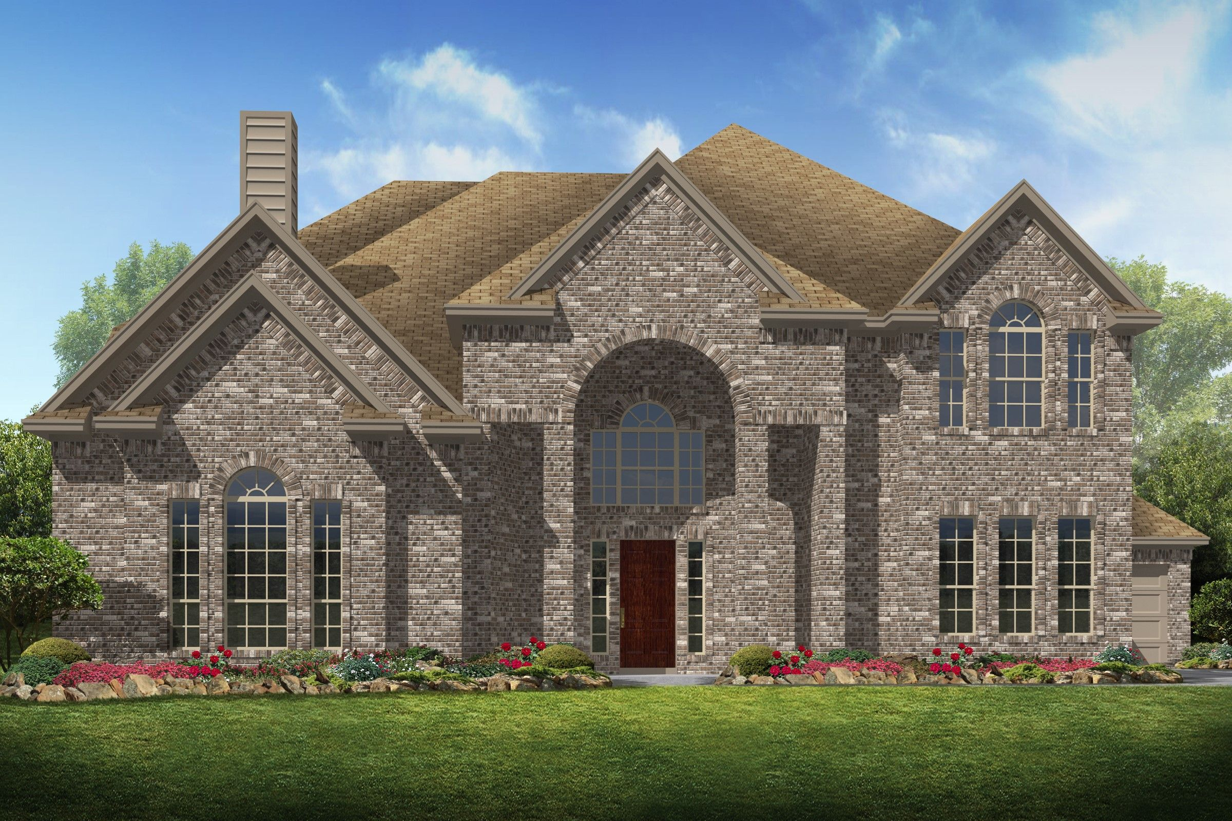 Single Family for Sale at Briarwood 4603 Red Fox Circle, Homesite 19 Baytown, Texas 77523 United States