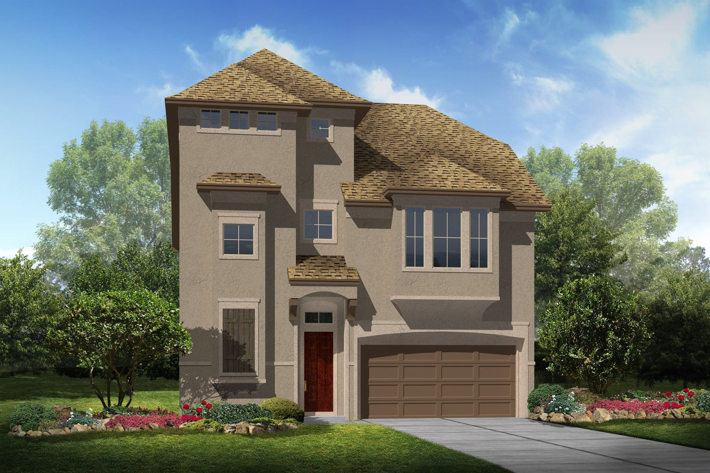 Single Family for Sale at Parkway Terrace - Ava 2109 Westbourne Park Drive Houston, Texas 77077 United States