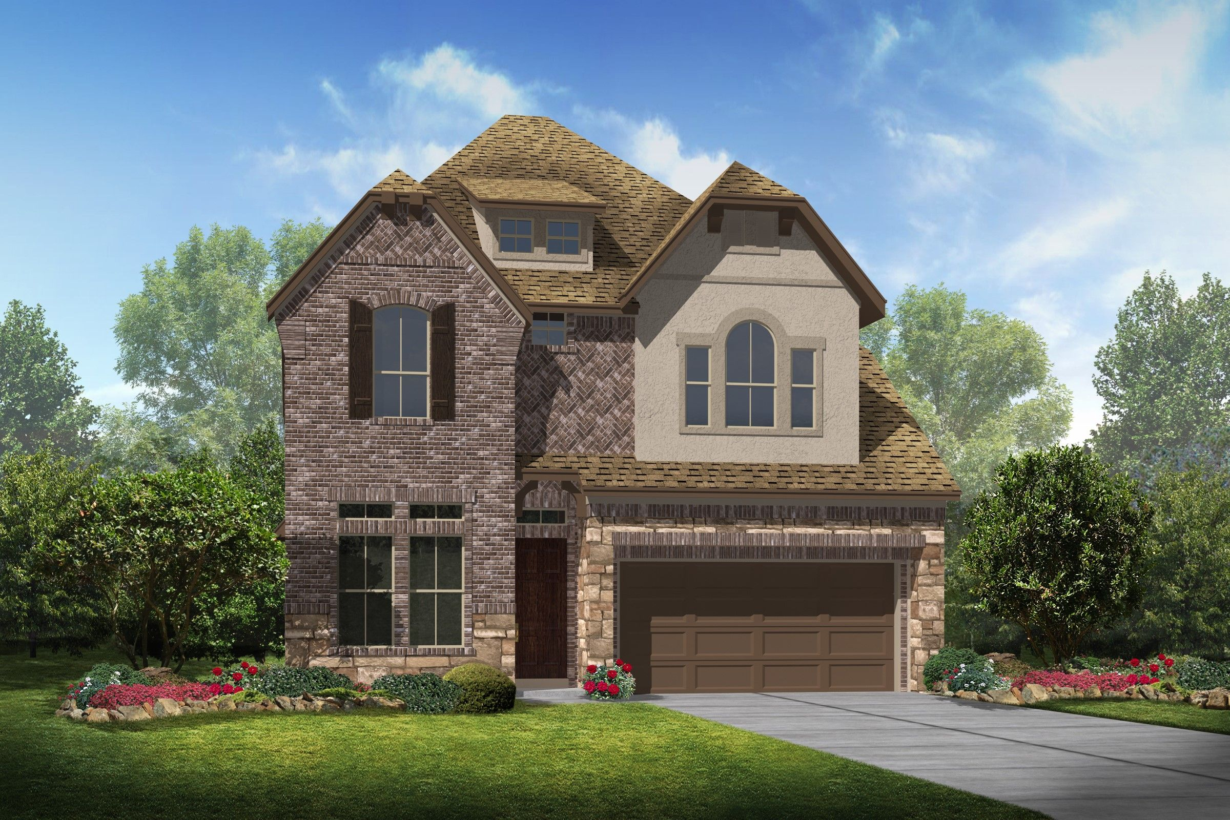 Single Family for Sale at Parkway Terrace - Oliver 2109 Westbourne Park Drive Houston, Texas 77077 United States