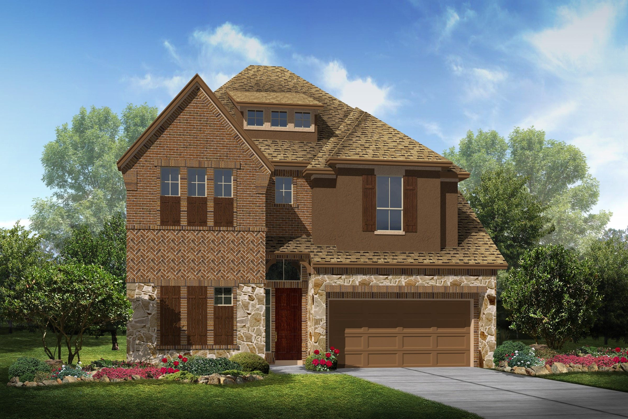 Single Family for Sale at Parkway Terrace - Bradford 2109 Westbourne Park Drive Houston, Texas 77077 United States