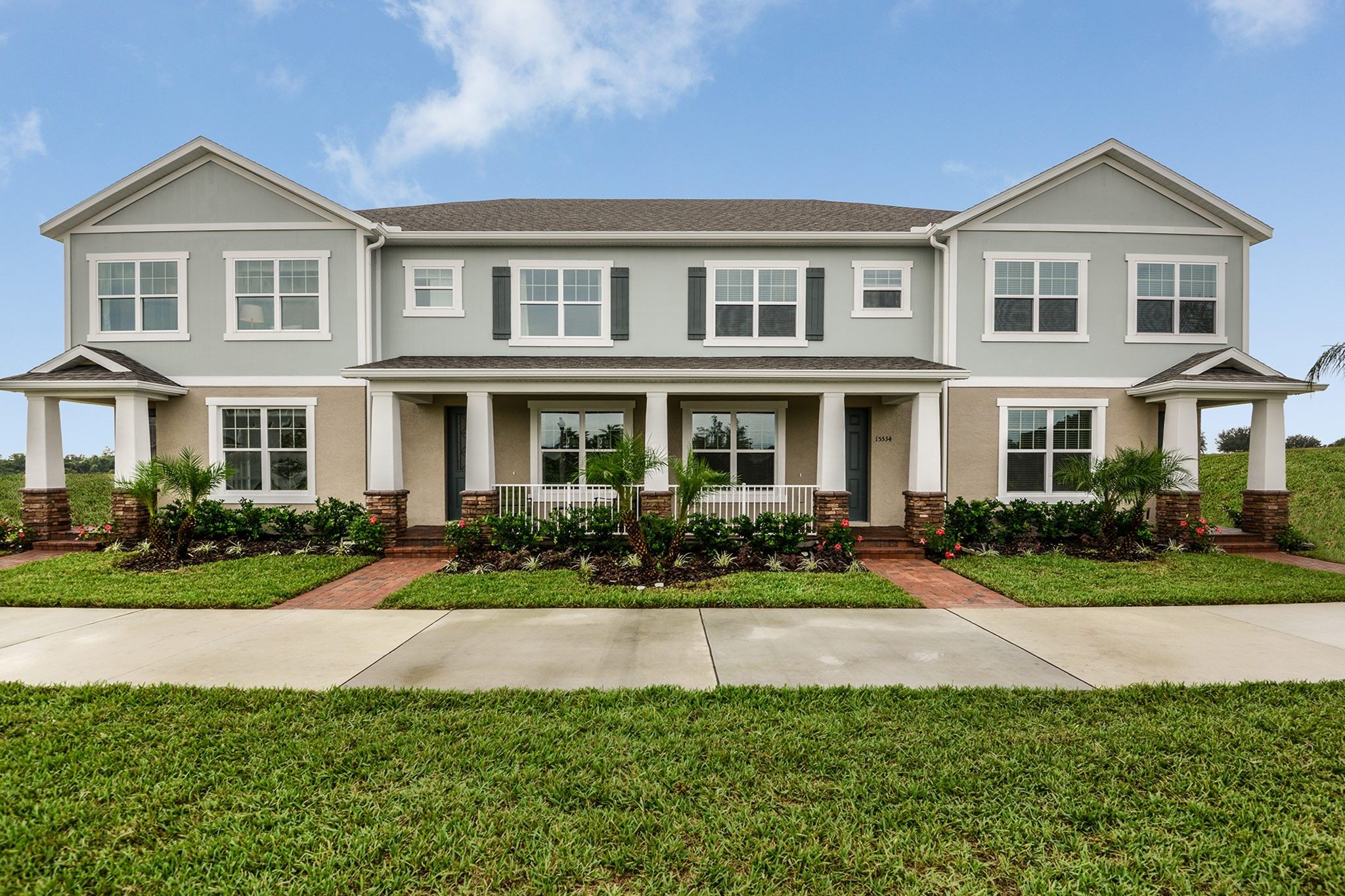 Photo Of The Highlands At Summerlake Groves Townhomes In Winter Garden, FL  34787