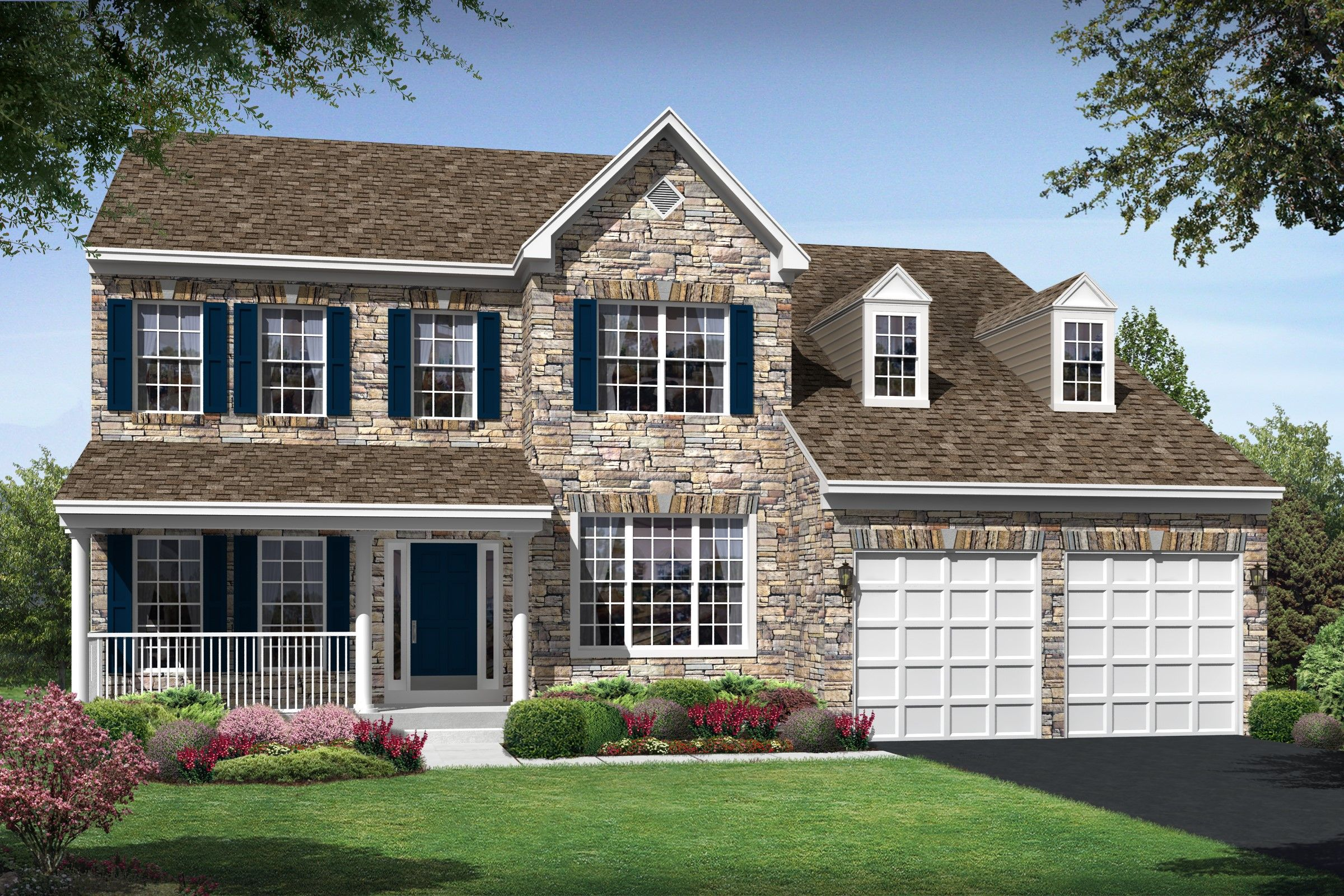 K hovnanian r homes canter estates berry hill 1168011 for Modern homes for sale in virginia