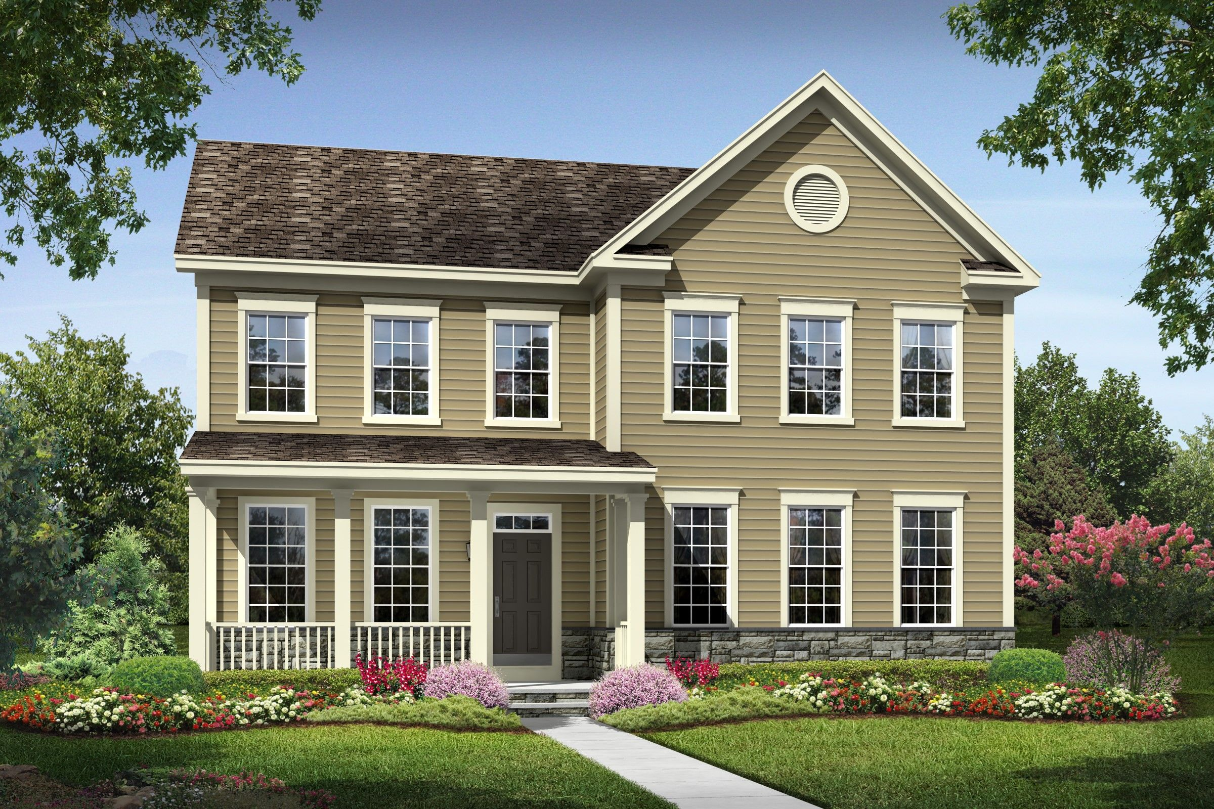 K hovnanian r homes embrey mill cooper 1196308 for Modern homes for sale in virginia