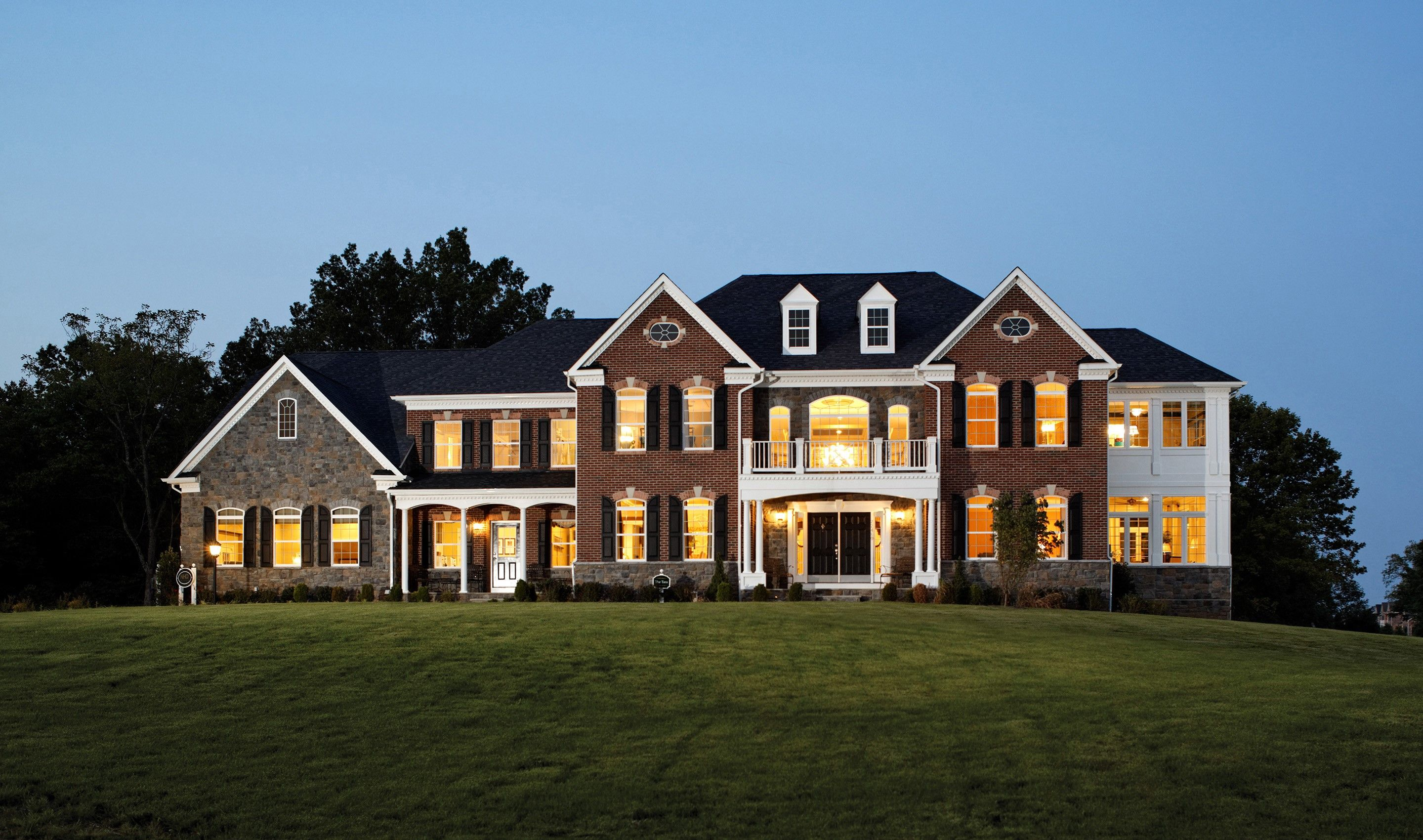 Single Family for Sale at Mount Vernon 6647 Tack House Trail, Homesite 13 Centreville, Virginia 20120 United States