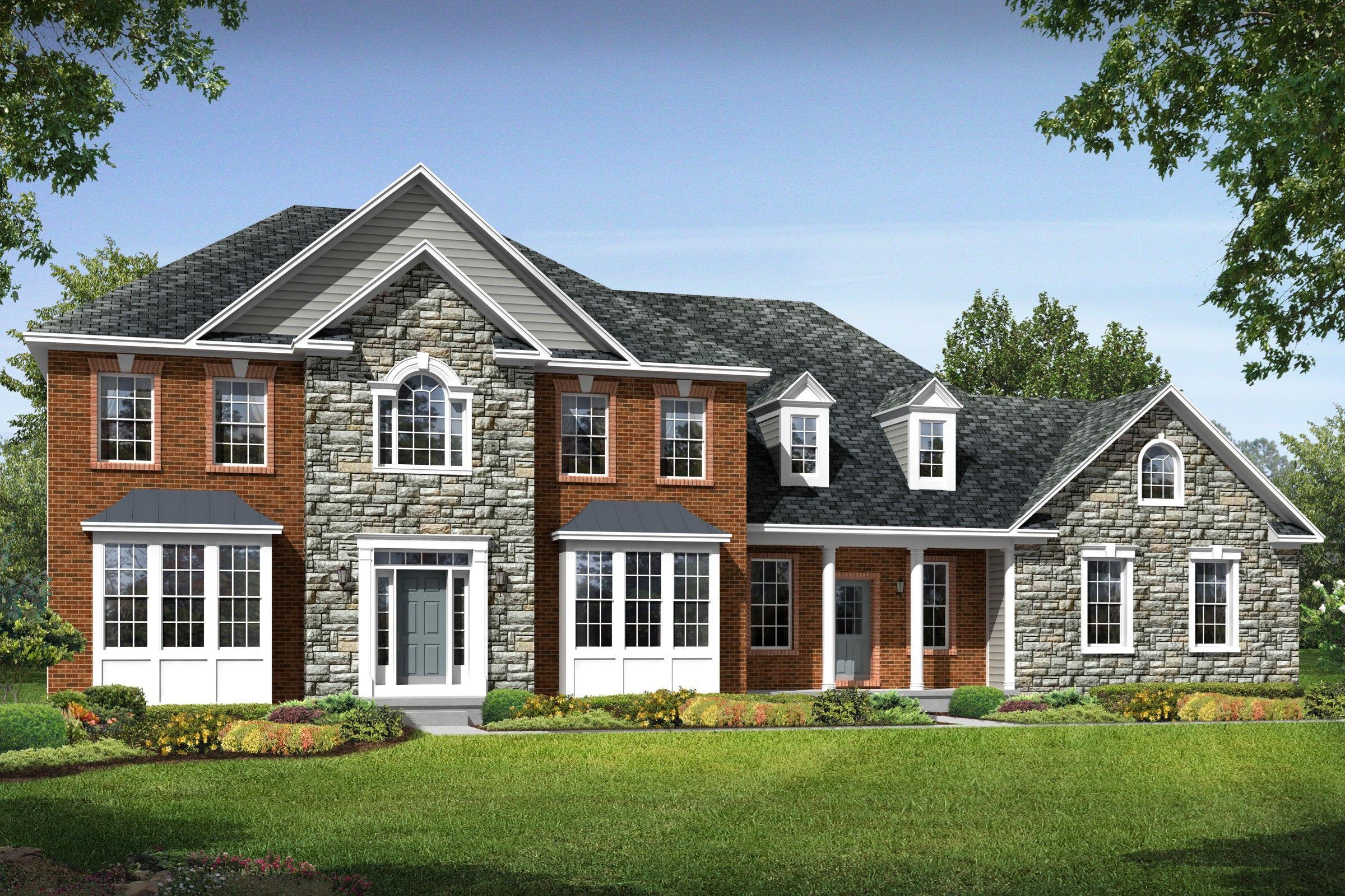 K hovnanian r homes reserves at wheatlands truman for Modern homes for sale in virginia