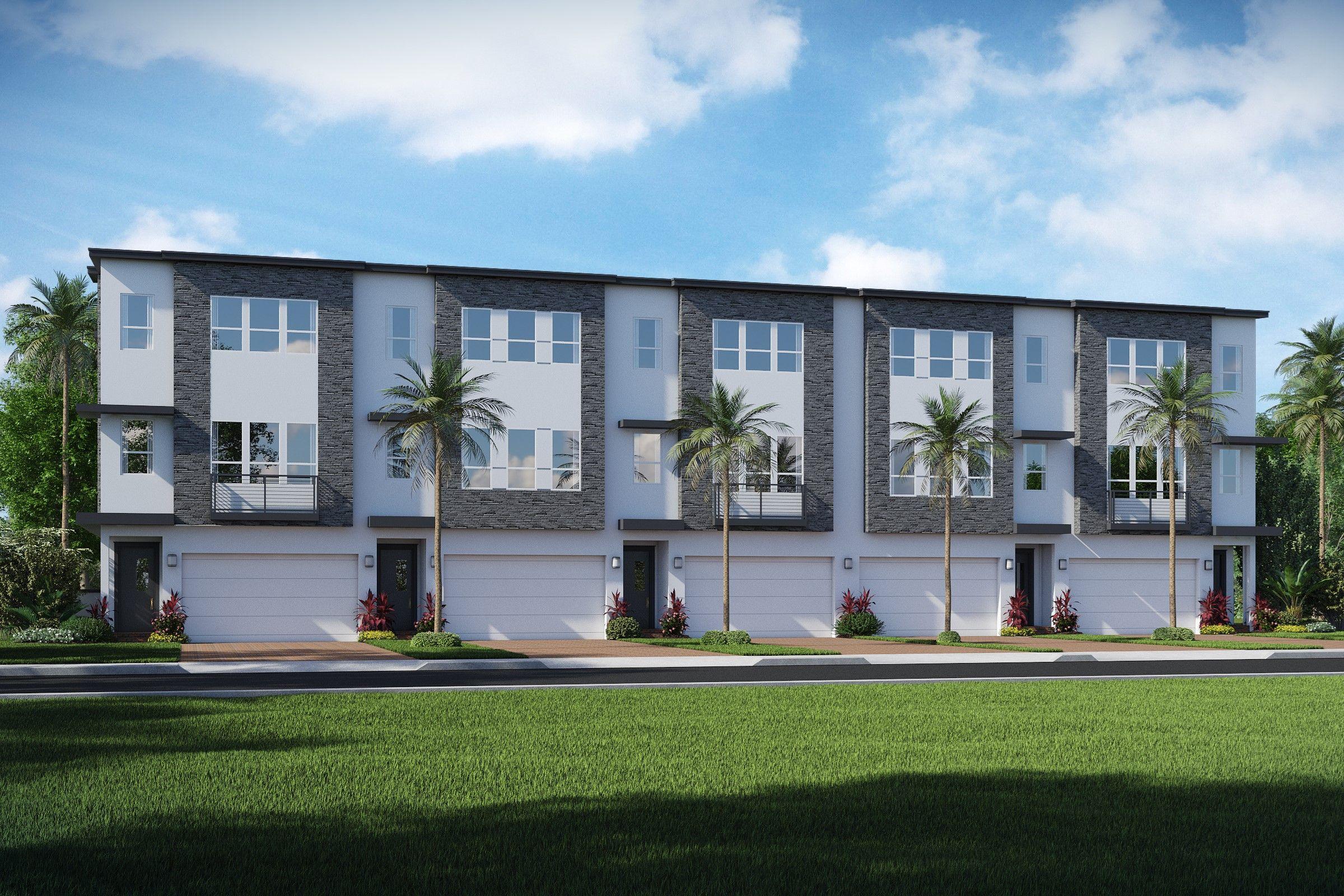 Multi Familie für Verkauf beim Bonnett 2900 Nw 12th Terrace, Homesite 2 Oakland Park, Florida 33334 United States