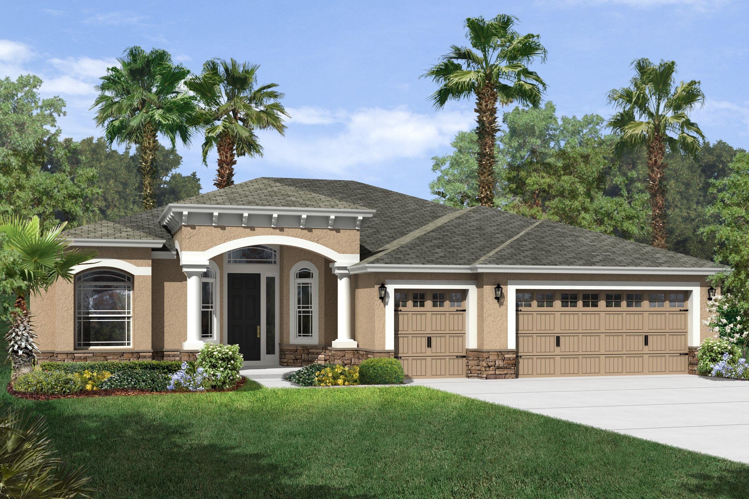 The landings at lake parker new homes in lakeland fl by k for Florida home designs lakeland fl