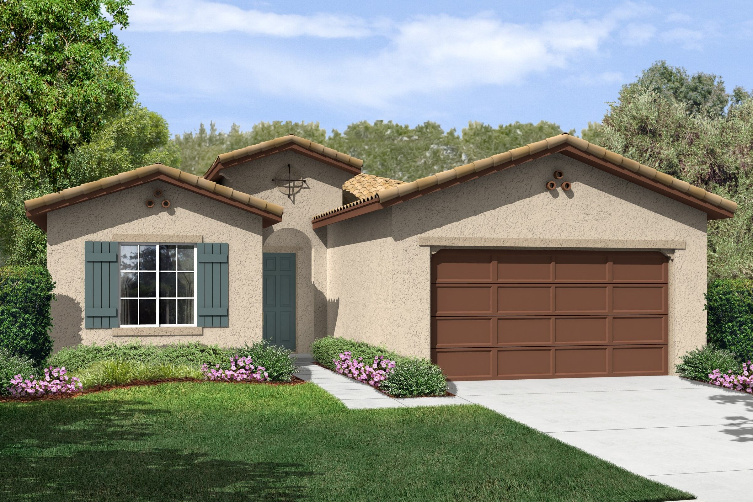 Single Family for Sale at K. Hovnanian's® Four Seasons At Bakersfield - Cornerstone 6311 Barcelona Drive Bakersfield, California 93306 United States