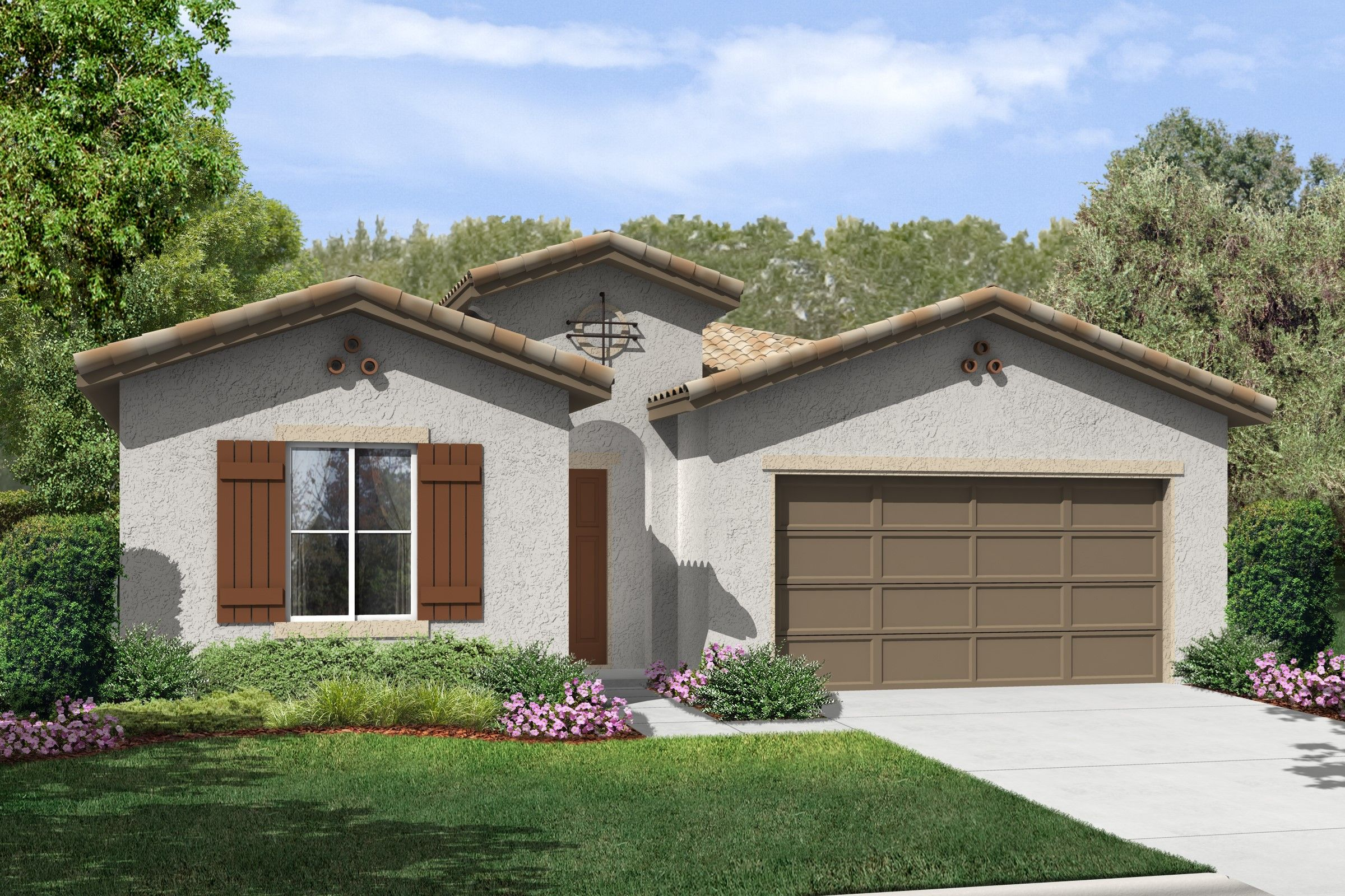 Single Family for Sale at K. Hovnanian's® Four Seasons At Bakersfield - Fresco 6311 Barcelona Drive Bakersfield, California 93306 United States
