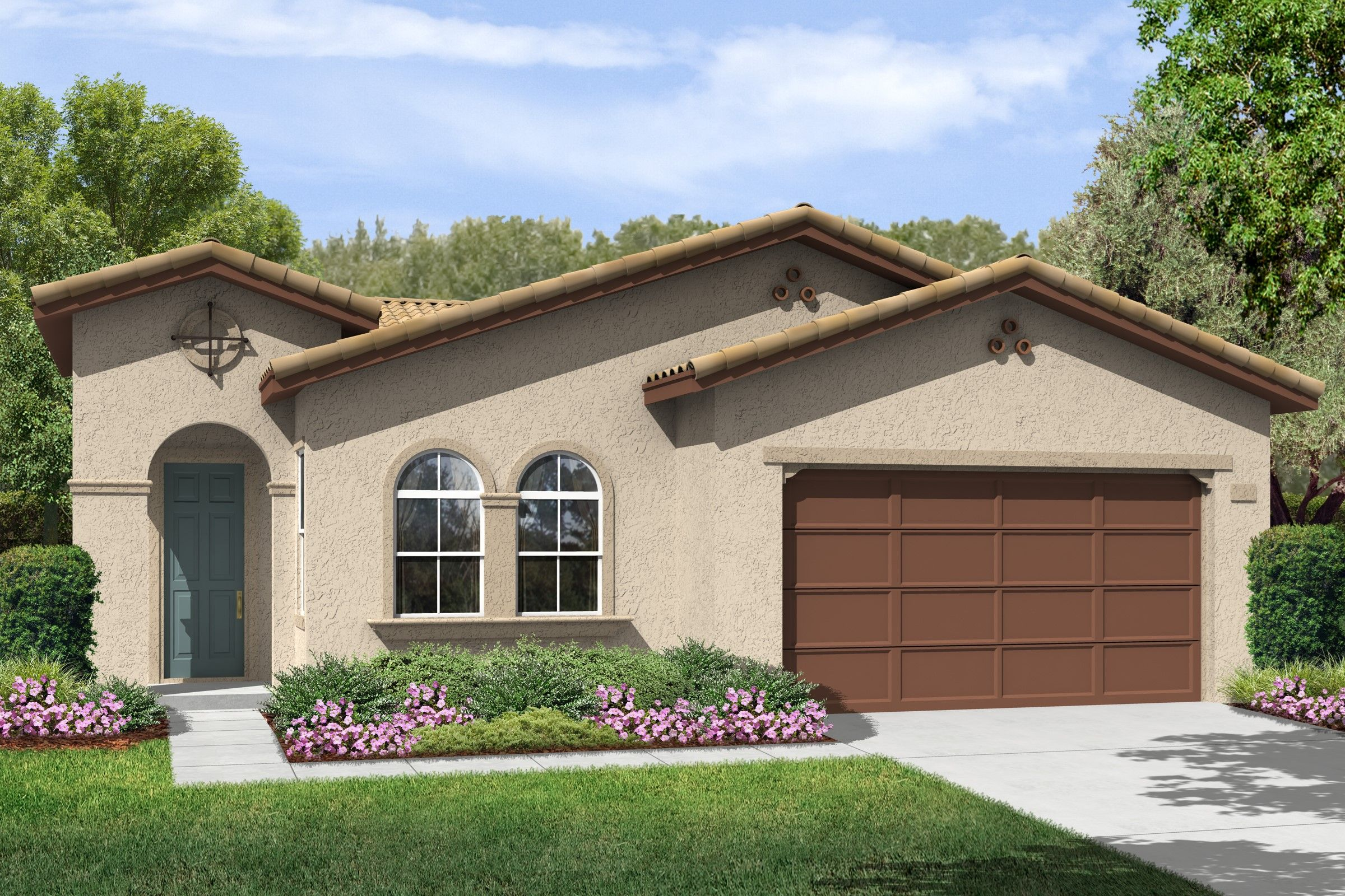 Single Family for Sale at K. Hovnanian's® Four Seasons At Bakersfield - Bryce Canyon 6311 Barcelona Drive Bakersfield, California 93306 United States