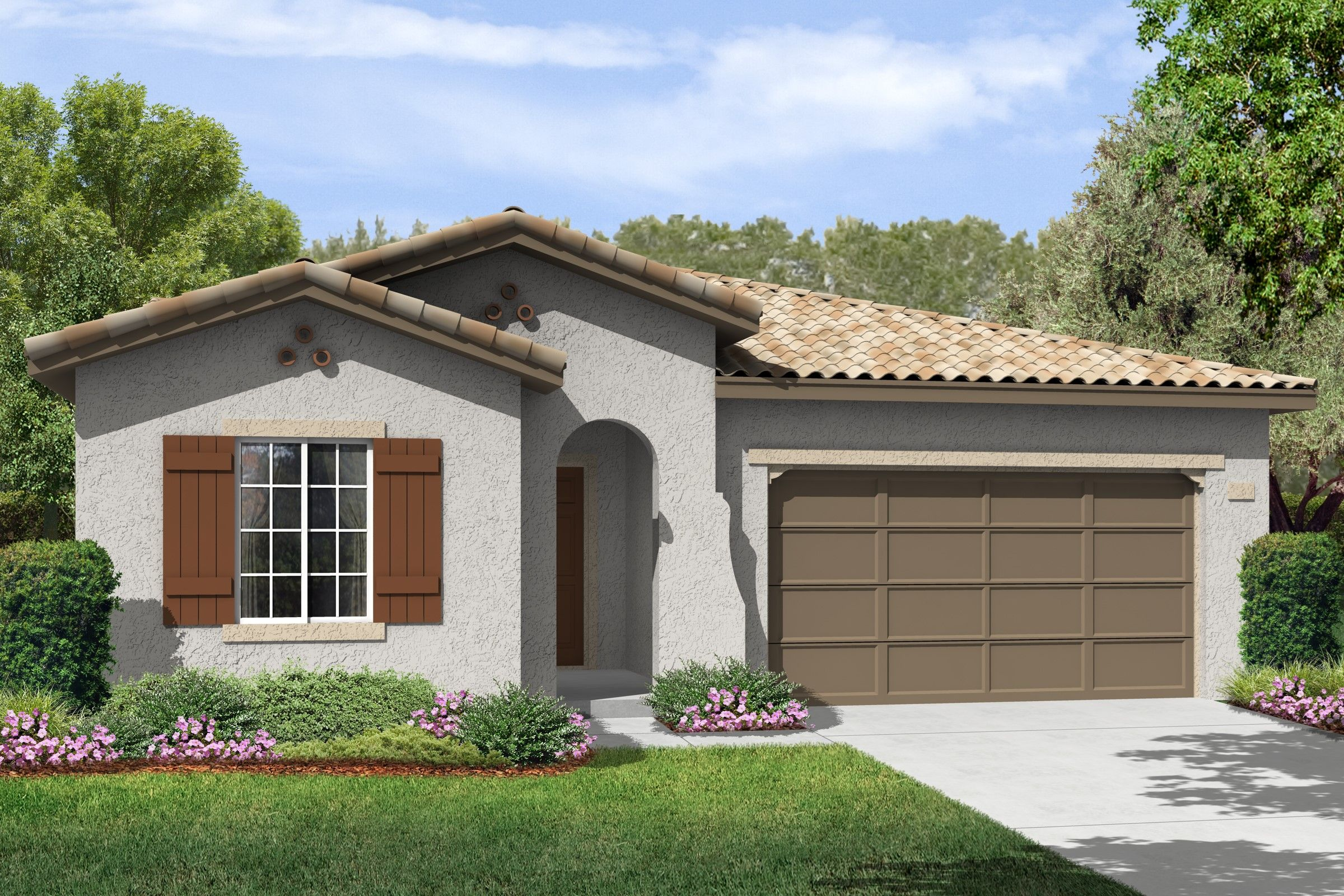 Single Family for Sale at K. Hovnanian's® Four Seasons At Bakersfield - Kern Canyon 6311 Barcelona Drive Bakersfield, California 93306 United States