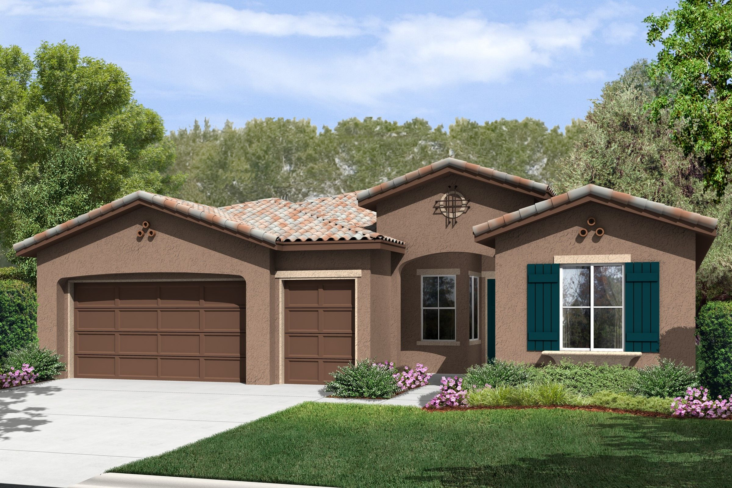 Single Family for Sale at K. Hovnanian's® Four Seasons At Bakersfield - Mosaic 6311 Barcelona Drive Bakersfield, California 93306 United States