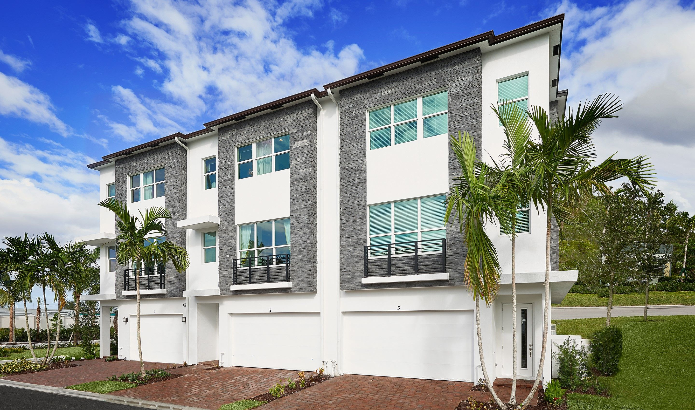 多户 为 销售 在 Selena 2900 Se 12th Terrace, Homesite 7 Oakland Park, Florida 33334 United States