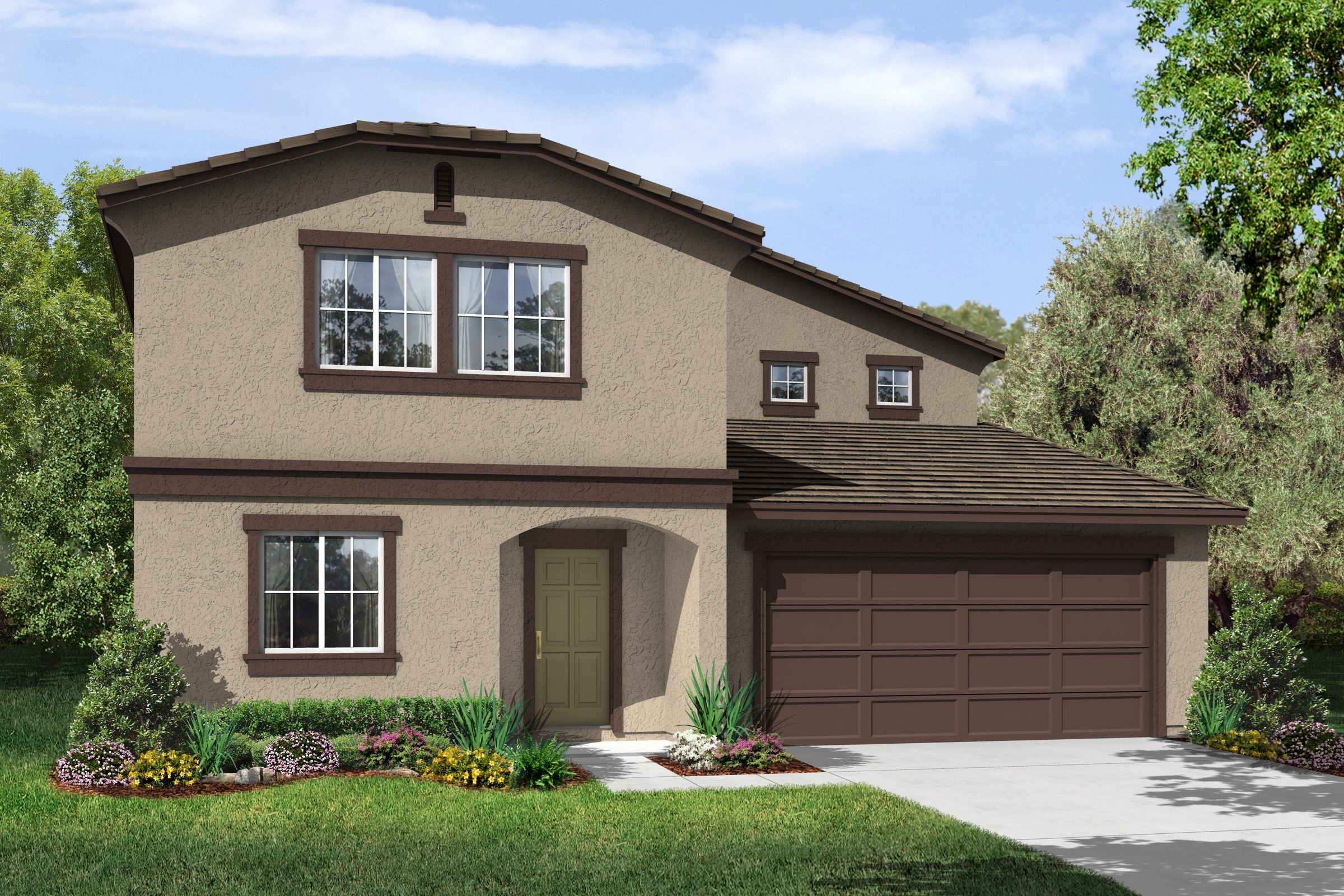 Single Family for Sale at Aspire - Sol 2101 Rayo Del Luna Drive Arvin, California 93203 United States