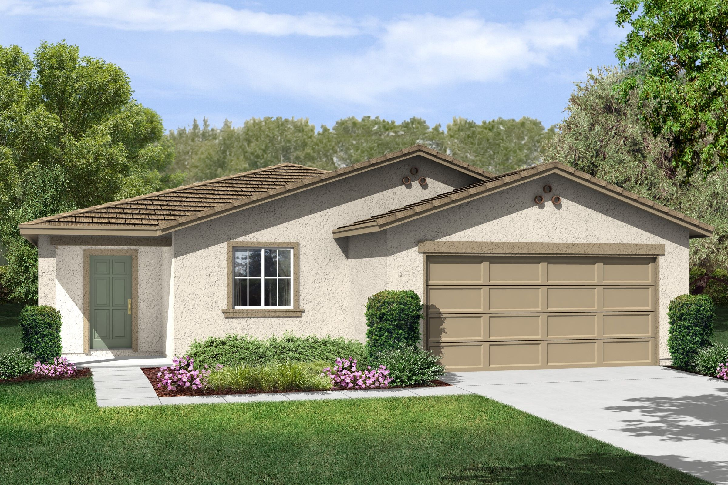 Single Family for Sale at Aspire - Estrella 2101 Rayo Del Luna Drive Arvin, California 93203 United States