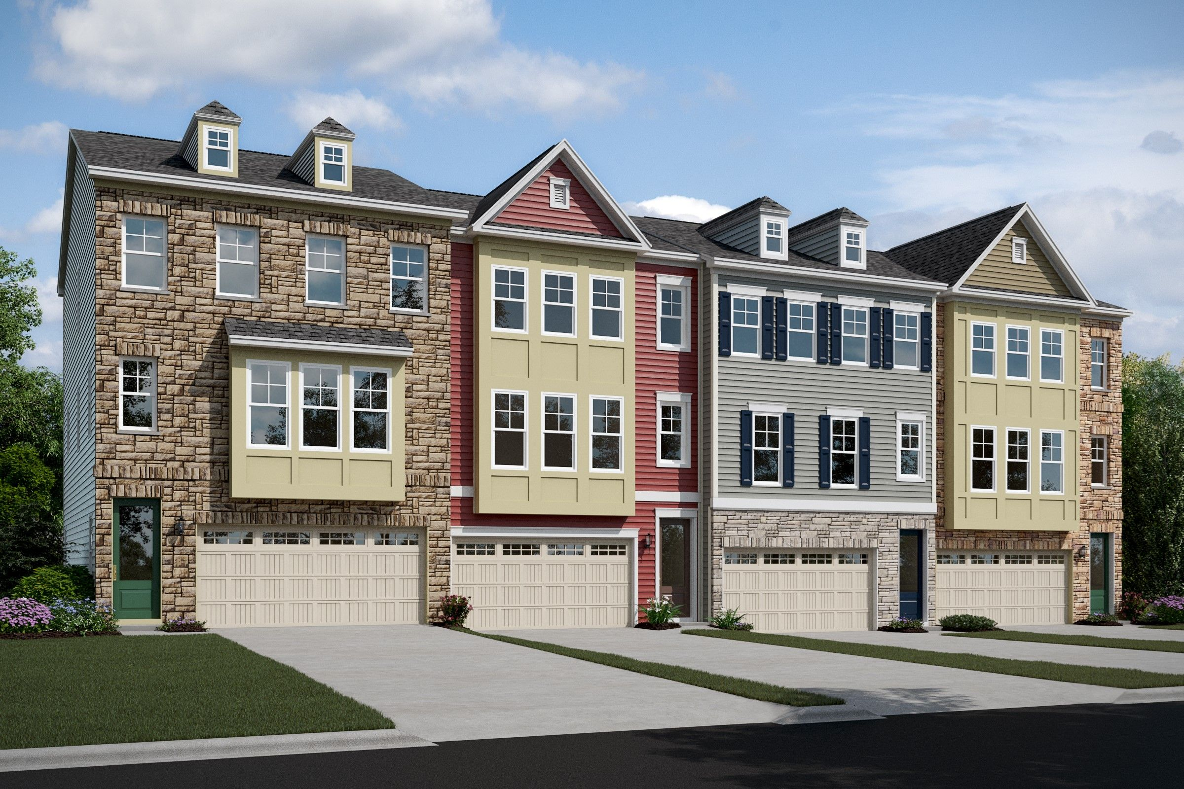 Multi Family for Active at Garrett I 1234 Hickory Hill Circle, Homesite 12 Arnold, Maryland 21012 United States